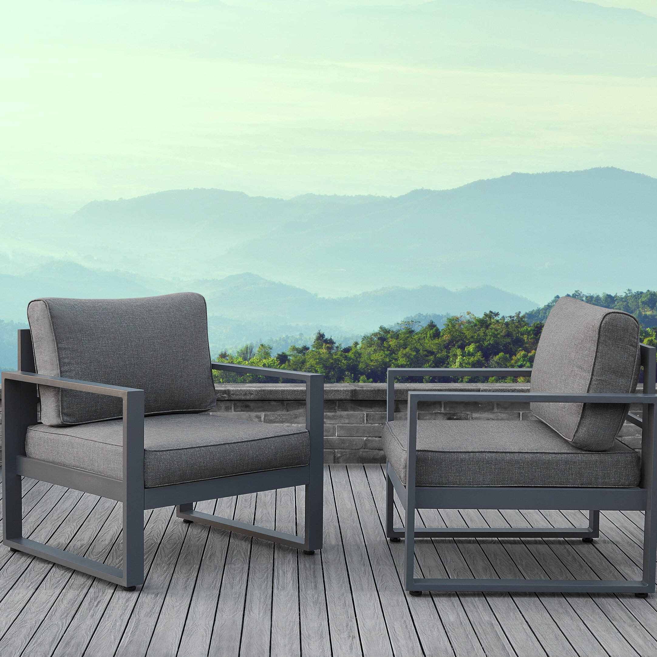 Newest O'kean Teak Patio Sofas With Cushions For Baltic Patio Chair With Cushion (View 12 of 25)