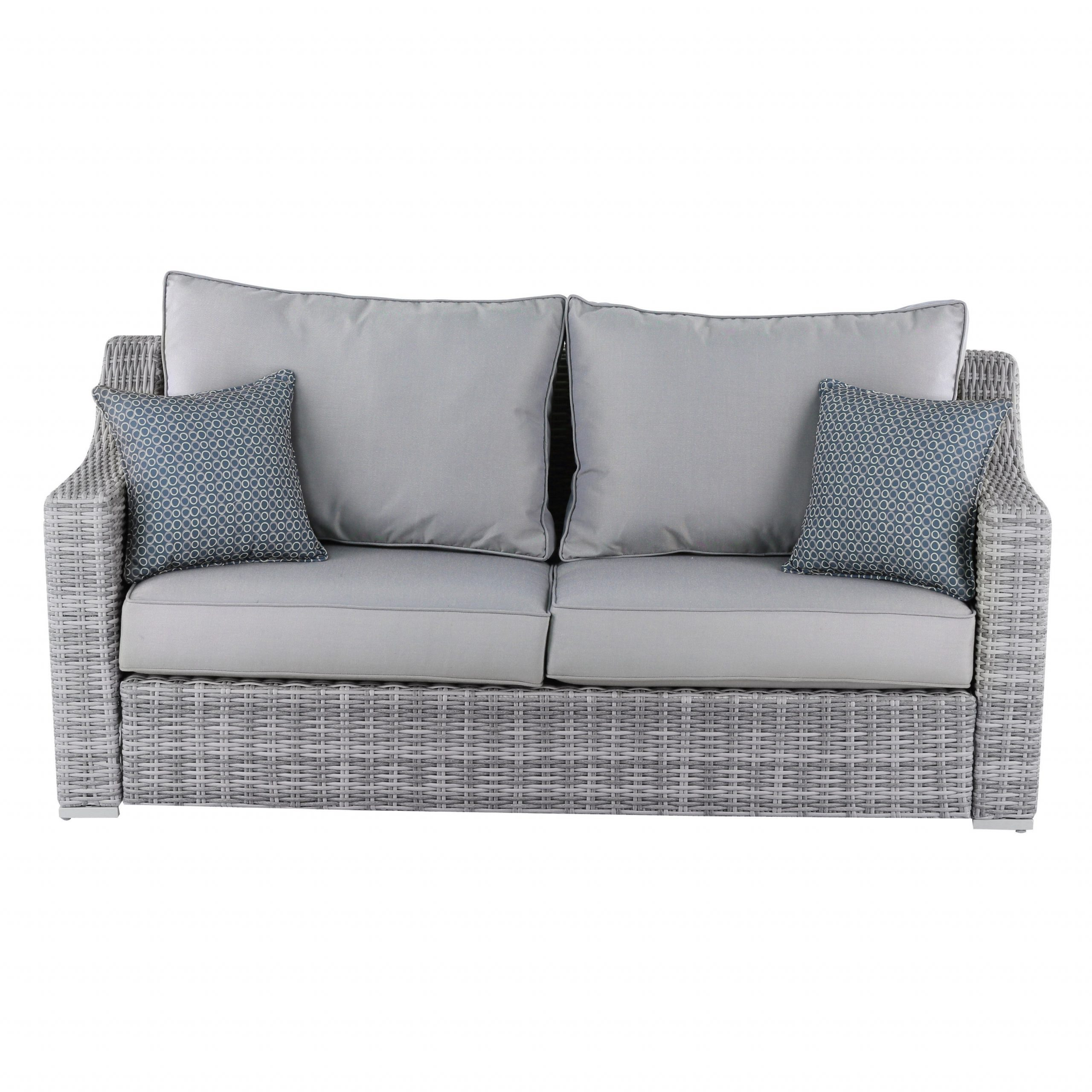 Newest Vallauris Storage Patio Sectionals With Cushions Pertaining To Elle Decor Vallauris Outdoor Sofa (View 6 of 25)