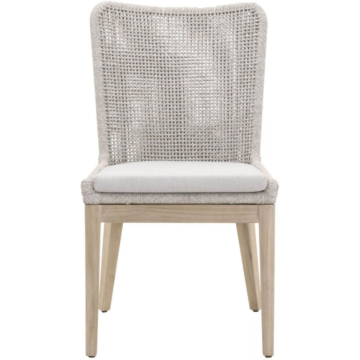 Orient Express Woven Mesh Outdoor Dining Chair – Set Of 2 Within Most Recent Kincaid Teak Patio Sofas With Sunbrella Cushions (Gallery 20 of 25)