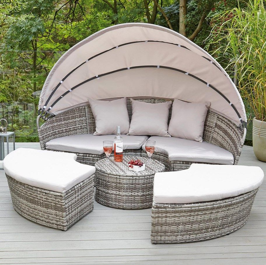 Outdoor In Most Recently Released Naperville Patio Daybeds With Cushion (Gallery 25 of 25)