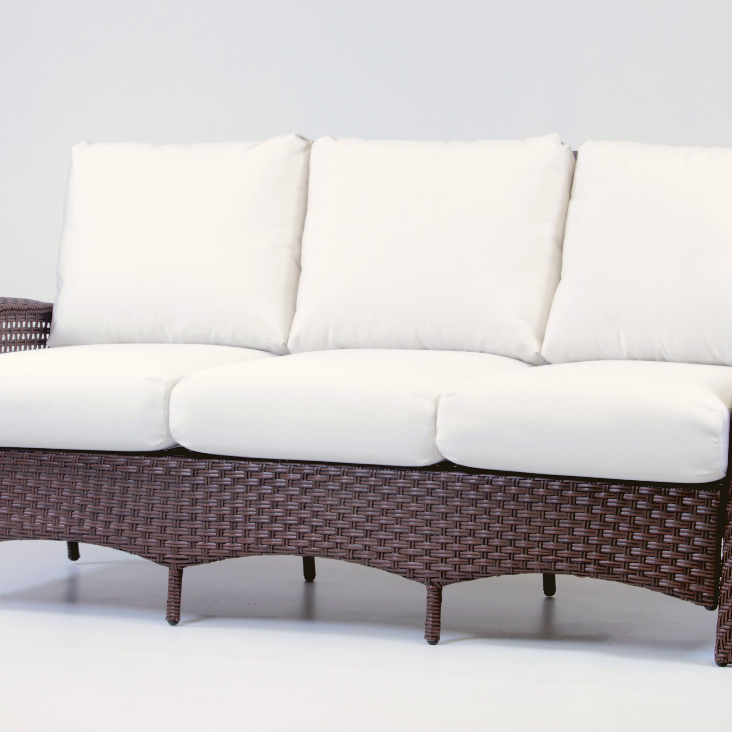 Popular Fannin Patio Sofas With Cushions Throughout Allerdale Sofa With Cushion (Gallery 10 of 25)