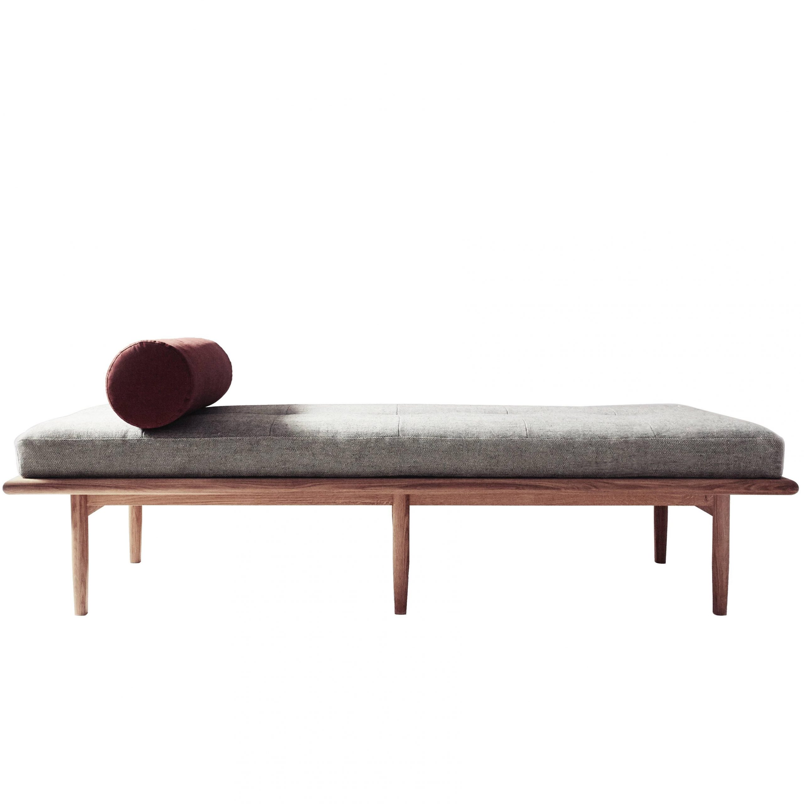Preferred Bishop Daybeds In Sylva Daybed With Hand Pleated Upholstery And Scandinavian White Oak (View 18 of 25)