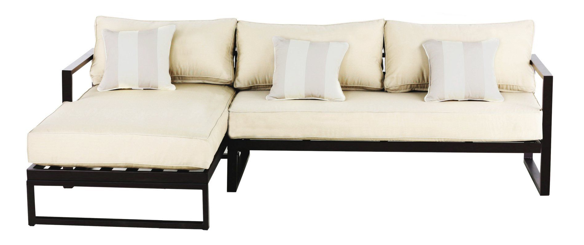 Preferred Catalina Outdoor Sofas With Cushions For Catalina Outdoor Right Arm Sectional Piece With Cushions (View 9 of 11)