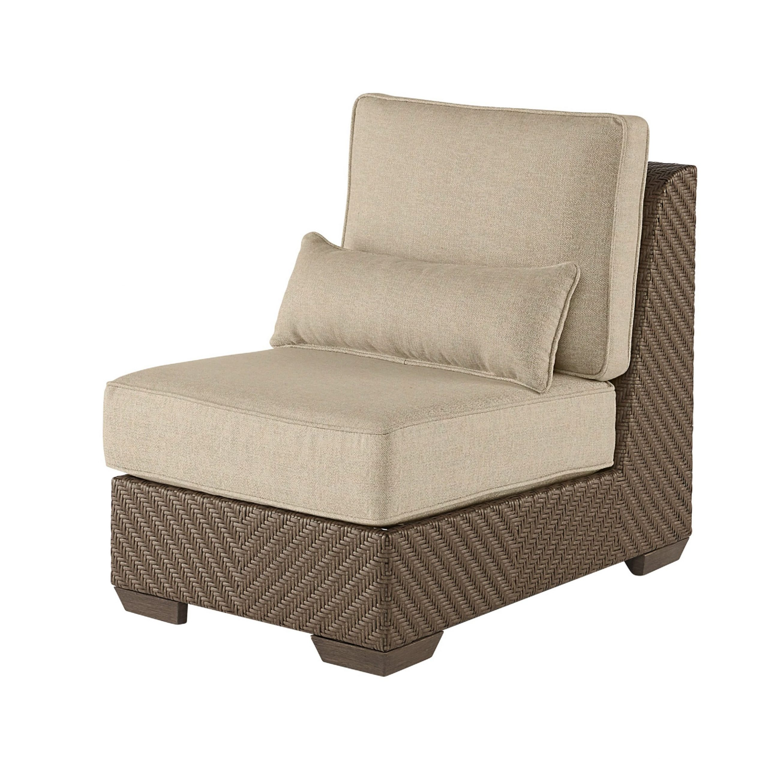 Repp Patio Sofas With Cushion Regarding Favorite Astrid Wicker Patio Chair With Cushion (View 22 of 25)