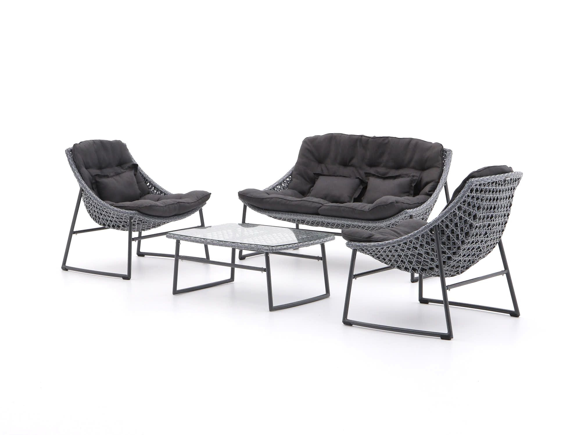 Repp Patio Sofas With Cushion Within Newest Manifesto Novara Sessel Sofa Lounge Set 4 Teilig (View 10 of 25)