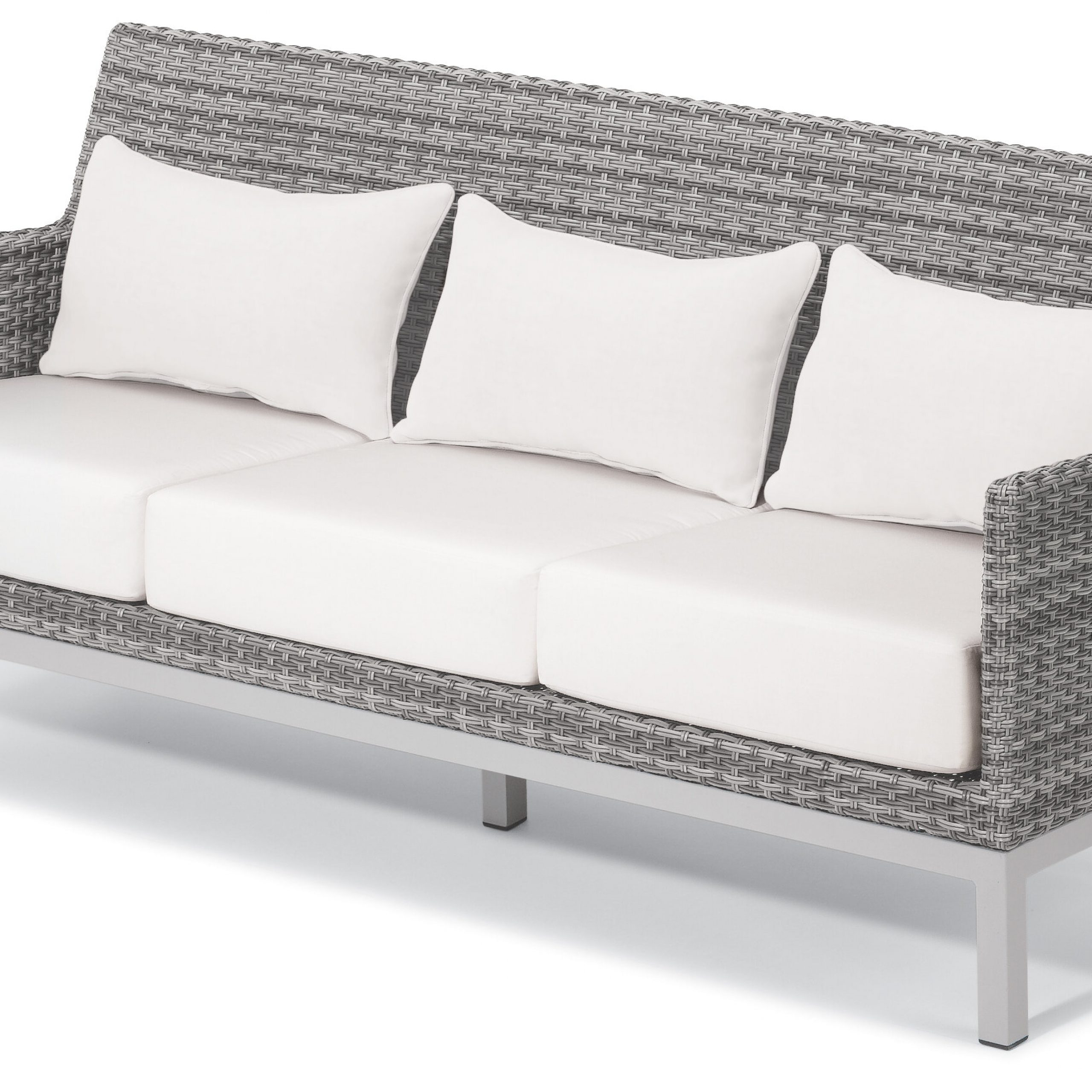 Saleem Loveseats With Cushions With Regard To Latest Saleem Patio Sofa With Cushions And Lumbar Pillows (View 20 of 25)