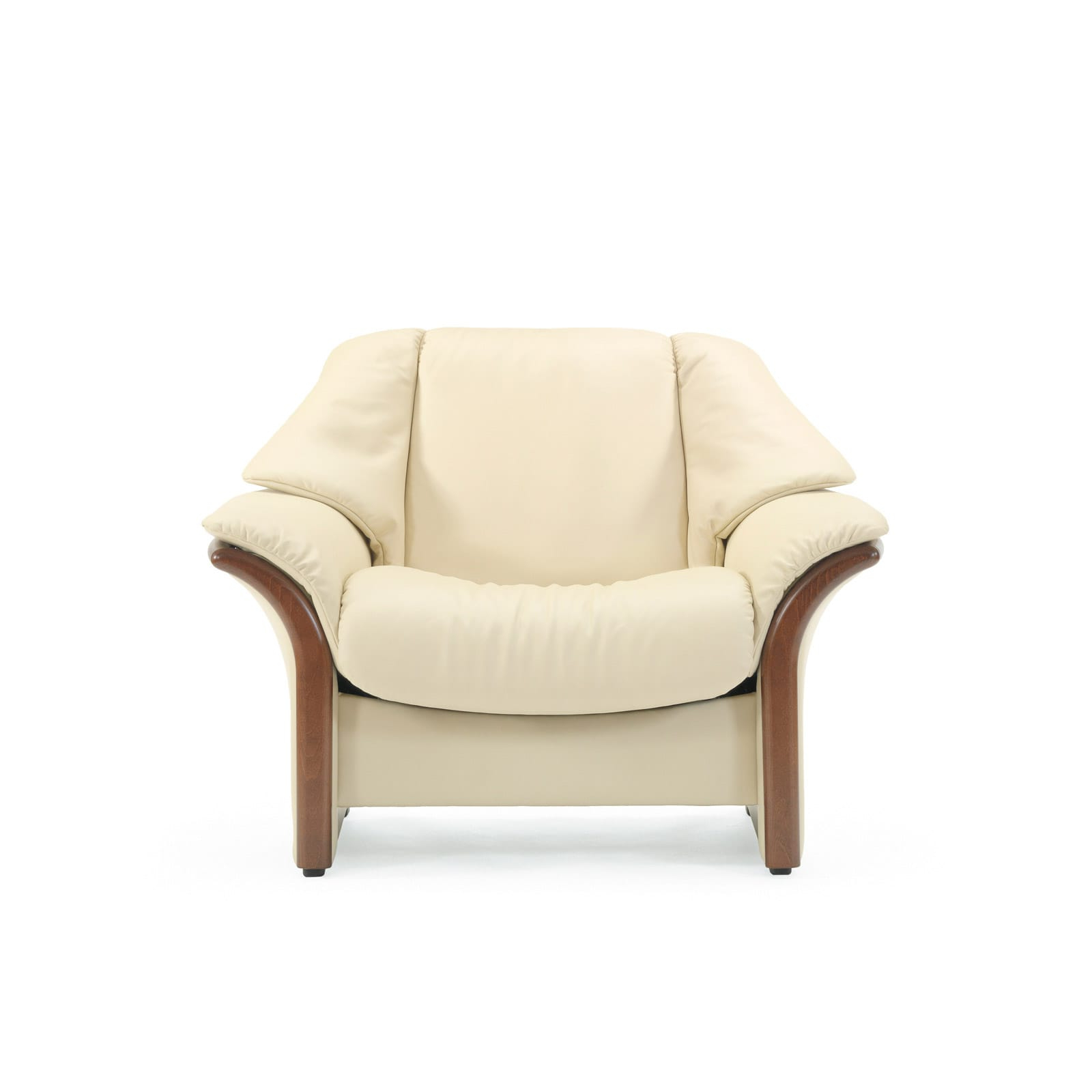 Stressless Sessel Eldorado (M) Niedrig Leder Paloma Vanilla Pertaining To 2019 Eldora Patio Sectionals With Cushions (View 23 of 25)