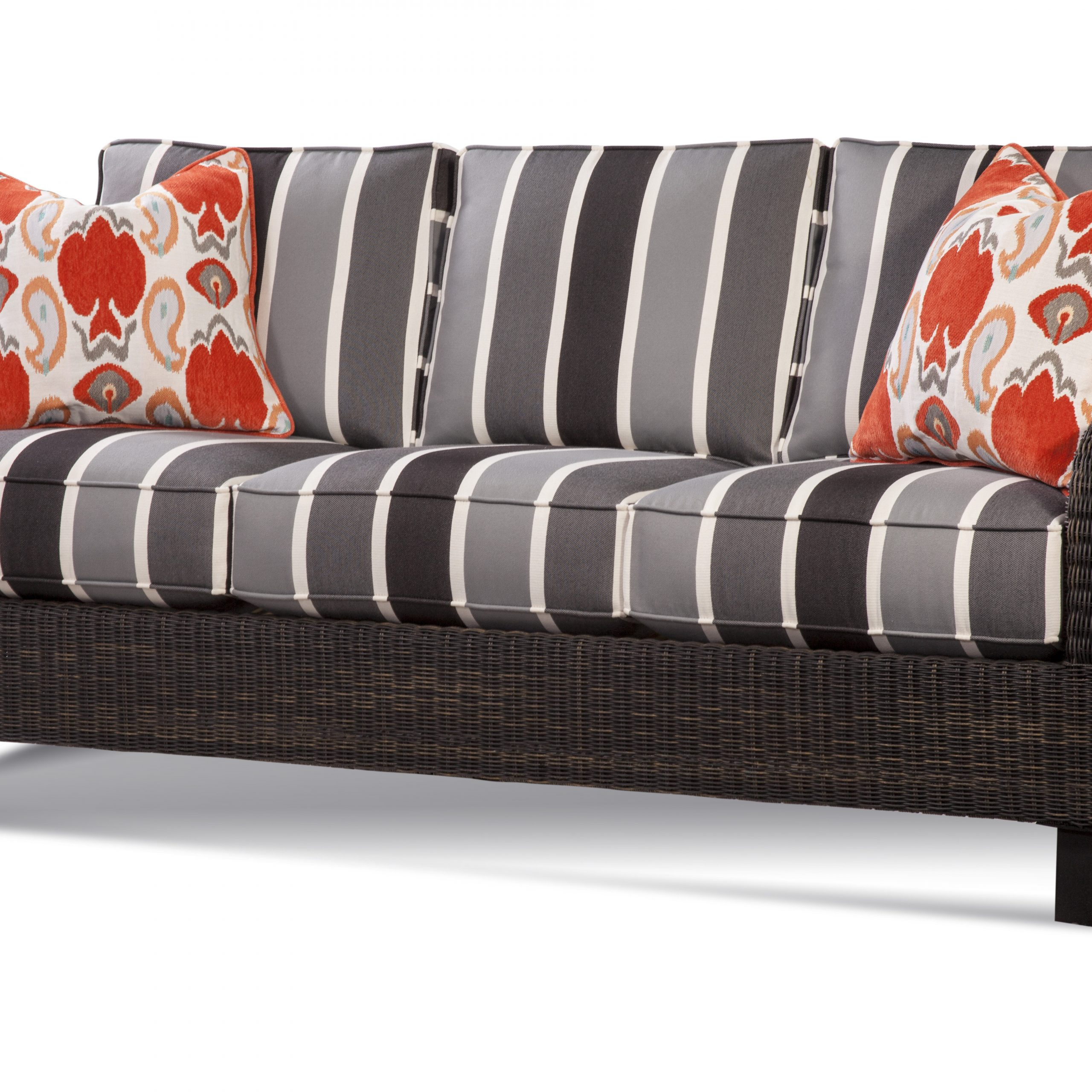 Tangier Patio Sofa With Cushions For Well Known Astrid Wicker Patio Sofas With Cushions (View 12 of 25)
