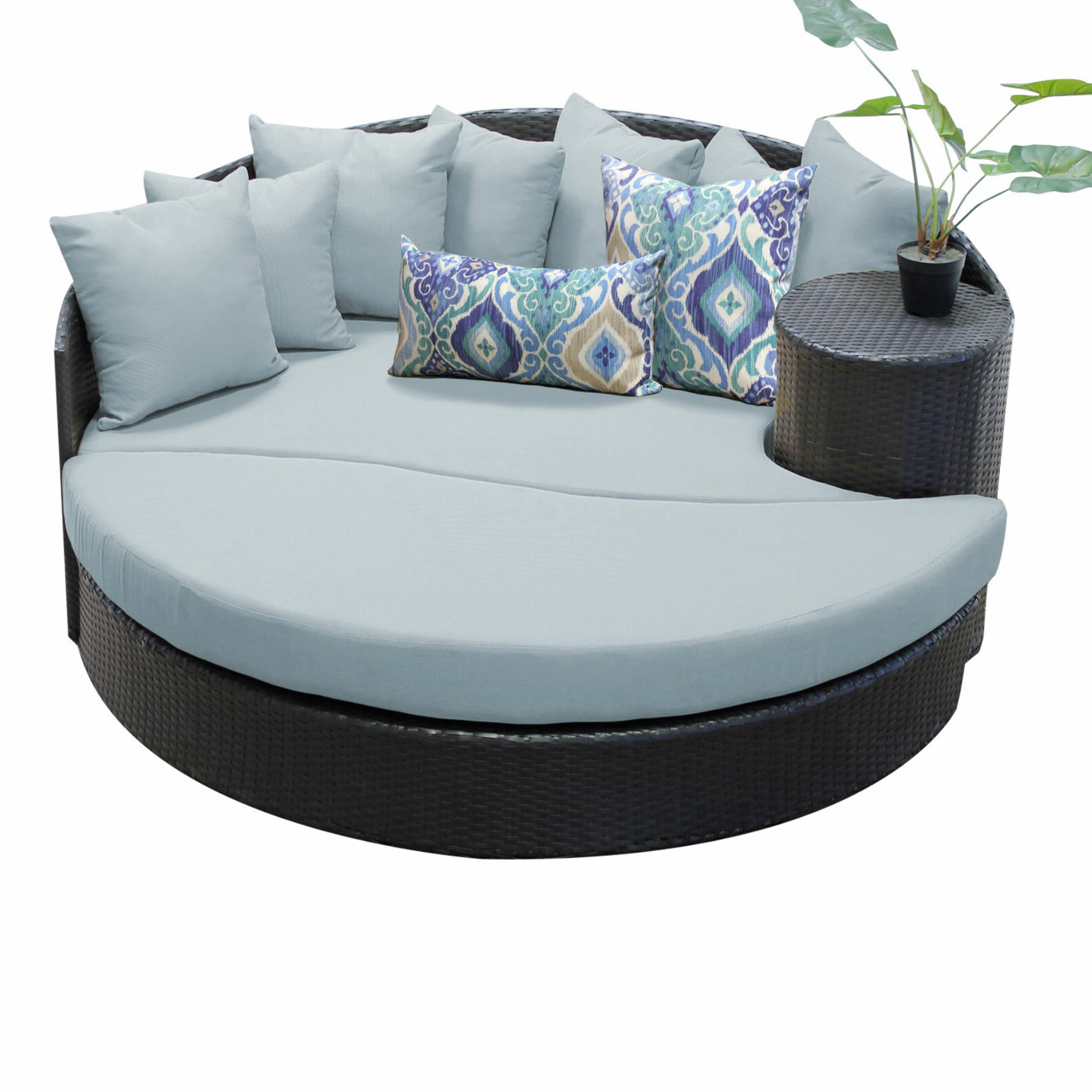 Tegan Patio Daybed With Cushion Inside Preferred Tegan Patio Sofas With Cushions (View 24 of 25)