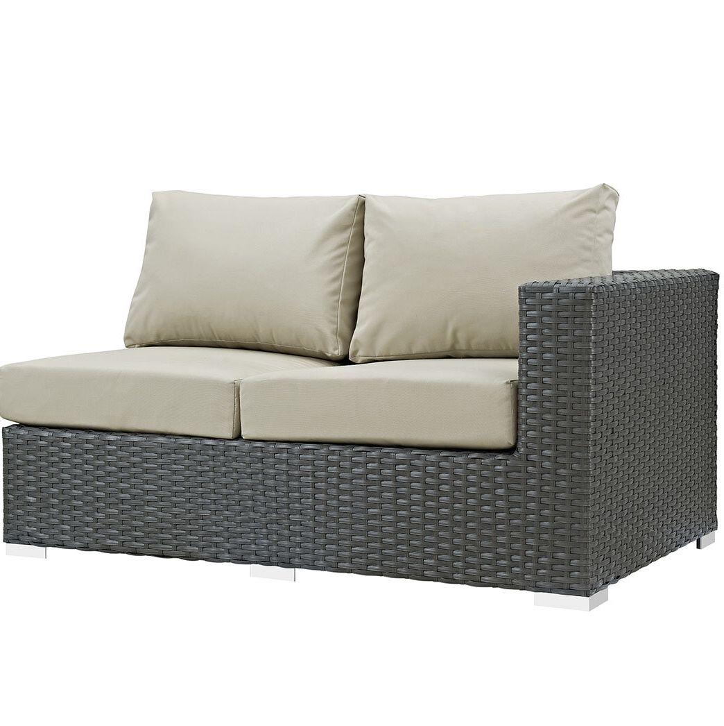 Tripp Left Arm Loveseat Sectional Piece With Cushions Throughout Recent Tripp Sofas With Cushions (View 8 of 25)