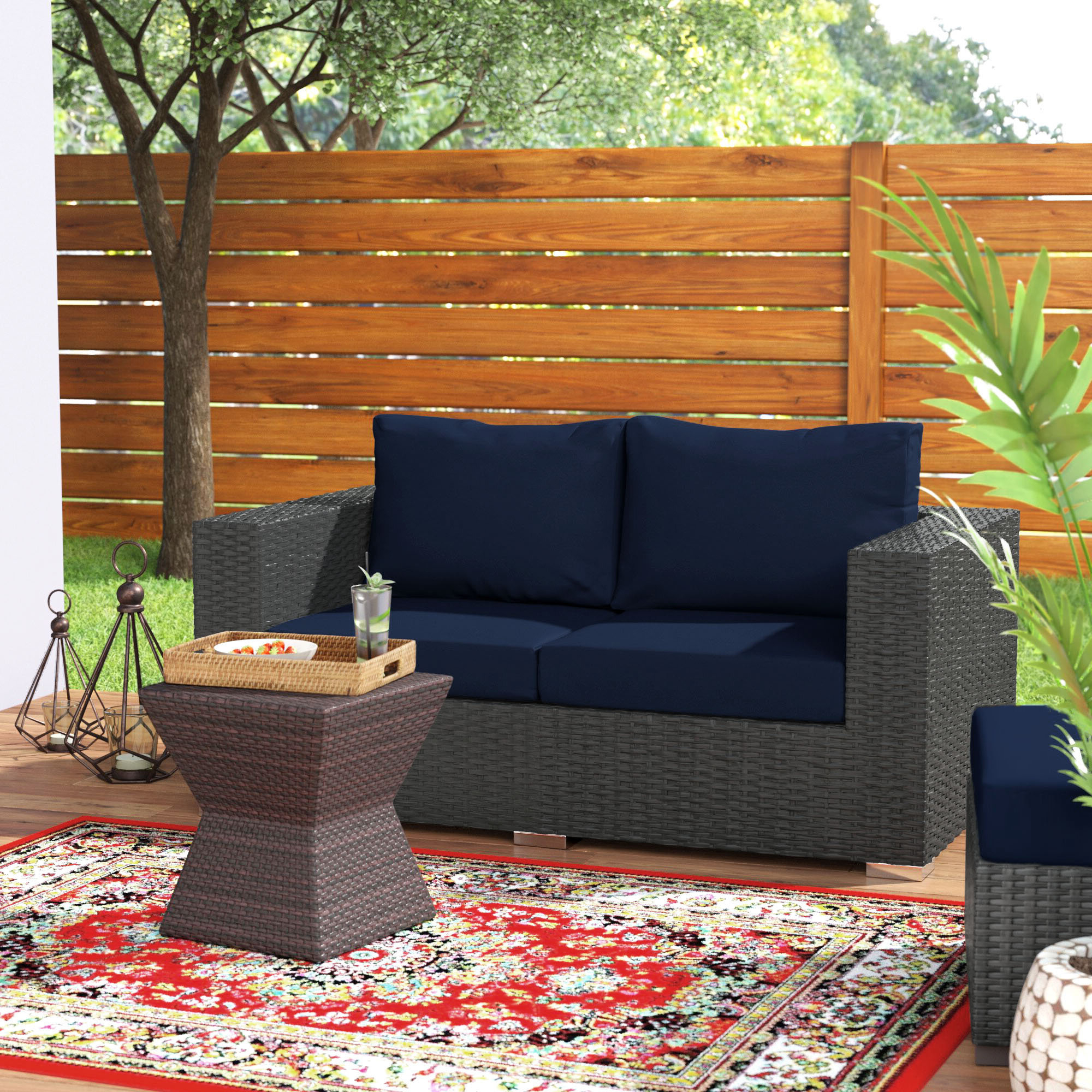 Tripp Loveseat With Cushions With Preferred Tripp Sofas With Cushions (View 6 of 25)