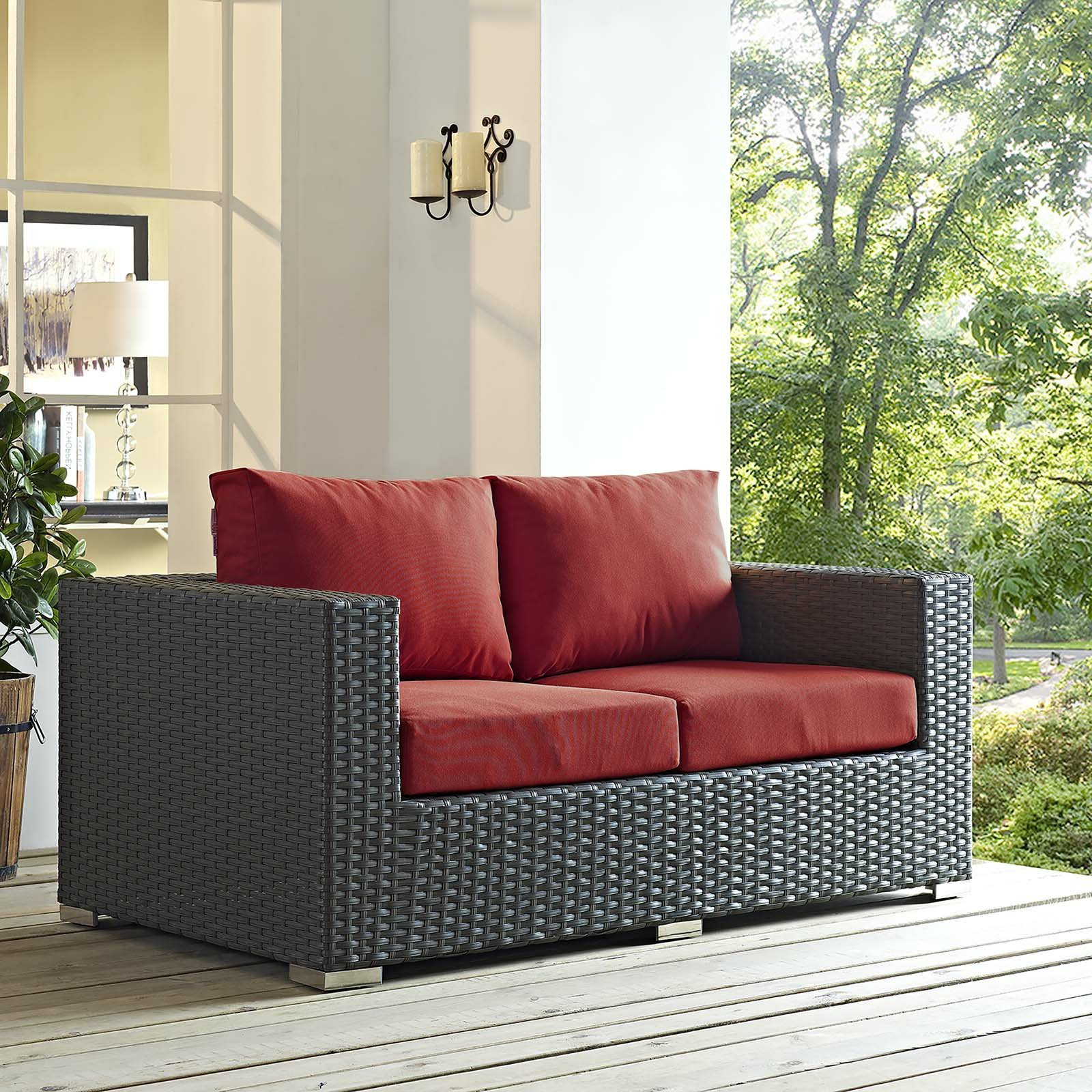 Tripp Loveseat With Cushions With Trendy Tripp Sofas With Cushions (View 11 of 25)
