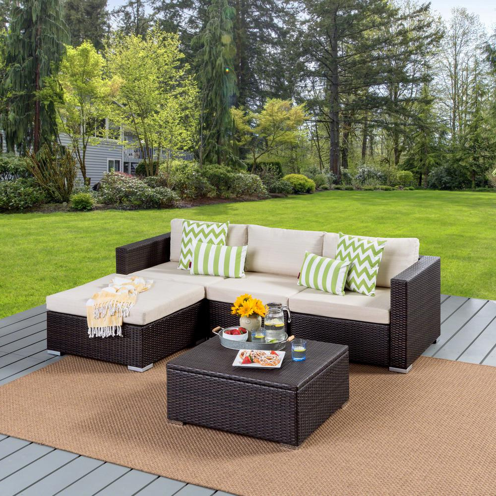 Vallauris Storage Patio Sectionals With Cushions In Widely Used Outdoor Sofa With Storage – Easy Craft Ideas (View 17 of 25)