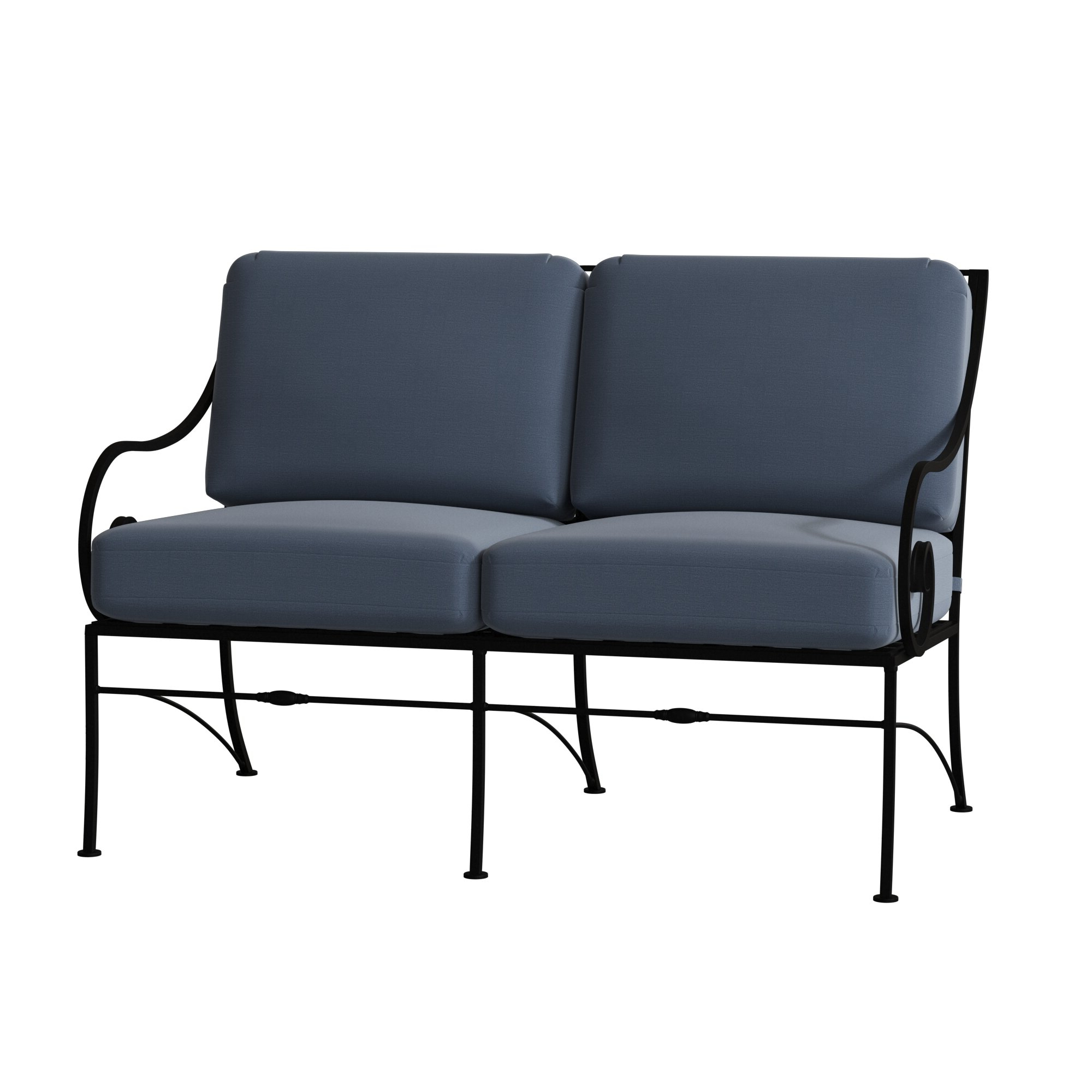 Van Dyke Loveseats Pertaining To Preferred Sheffield Loveseat With Cushions (Gallery 6 of 25)