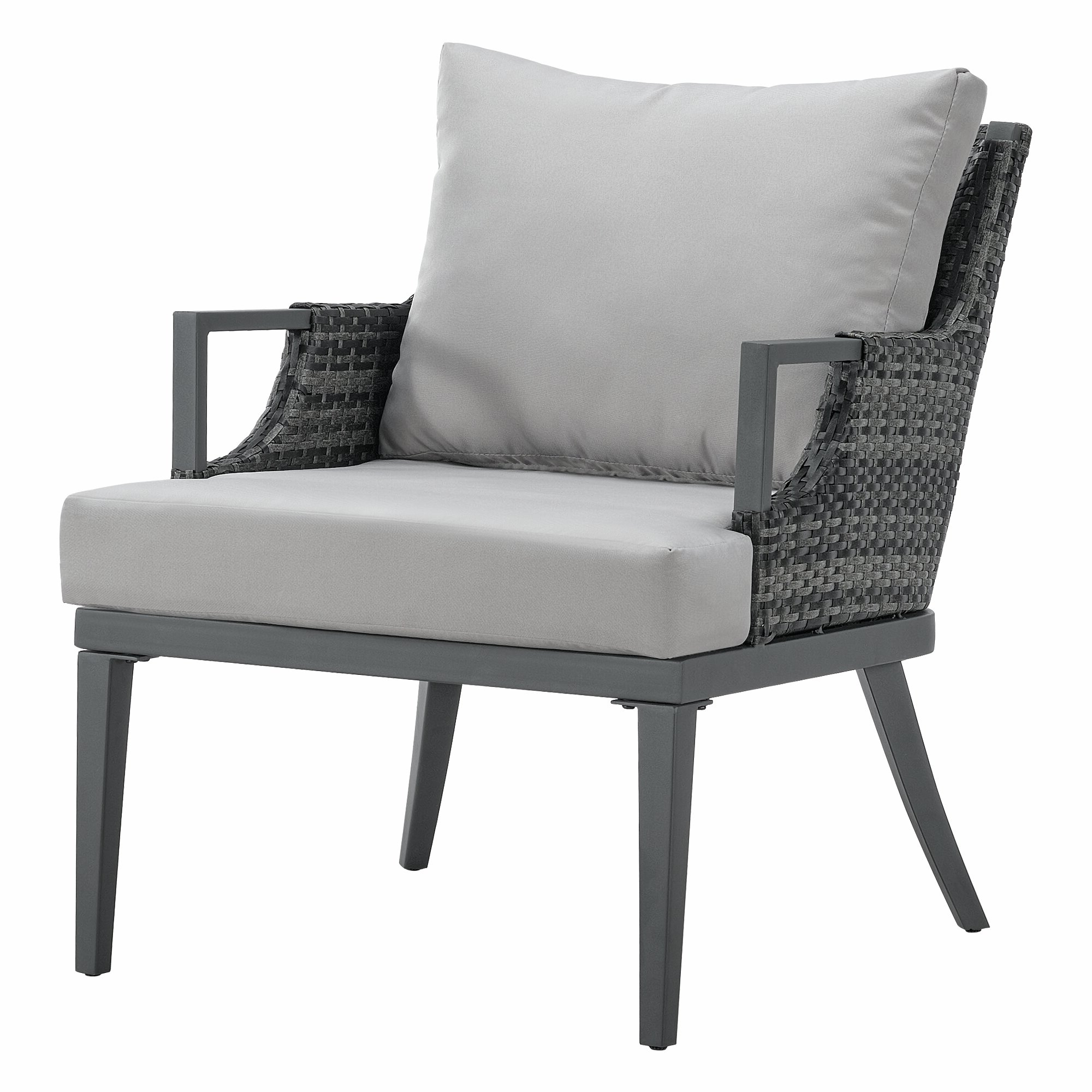 Wakeland Wicker Loveseats With Cushions Inside Famous Wakeland Patio Chair With Cushions (View 5 of 25)