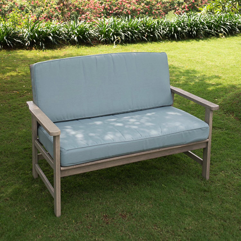 Wakeland Wicker Loveseats With Cushions Regarding Well Liked Englewood Loveseat With Cushions (Gallery 17 of 25)