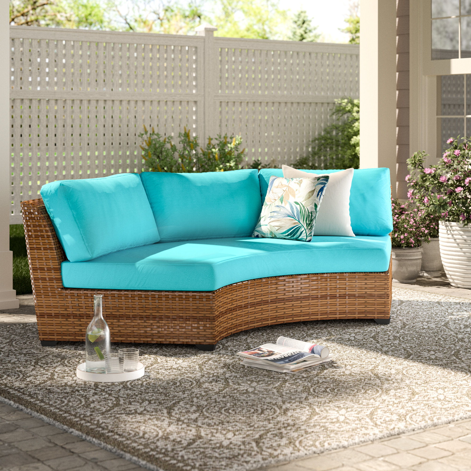 Waterbury Patio Sectionals With Cushions In Famous Waterbury Patio Sofa With Cushions (Gallery 1 of 25)