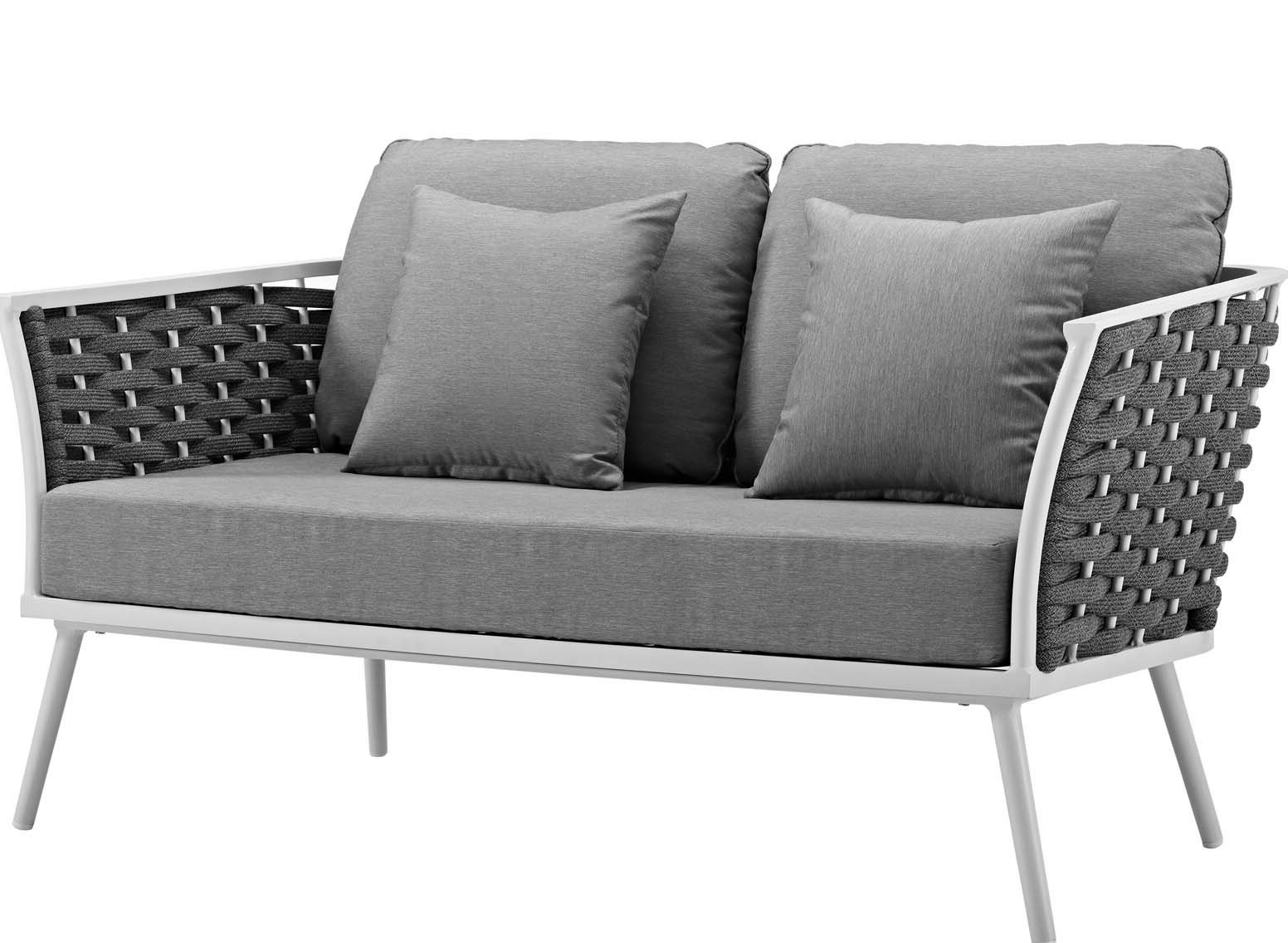 Wayfair For Newest Wakeland Wicker Loveseats With Cushions (Gallery 2 of 25)