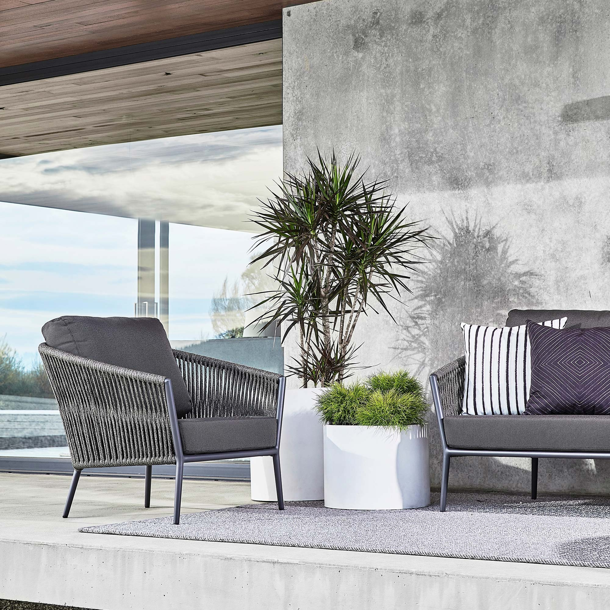Well Known Catalina Outdoor Lounge Chair Within Catalina Outdoor Sofas With Cushions (Gallery 6 of 11)