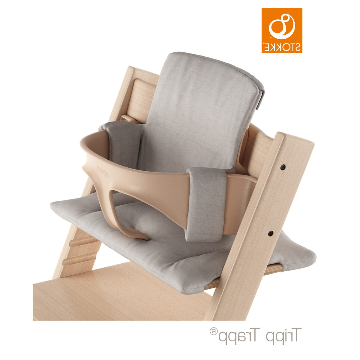 Well Known Cushion Stokke Tripp Trapp – Grey Melange With Tripp Sofas With Cushions (View 15 of 25)