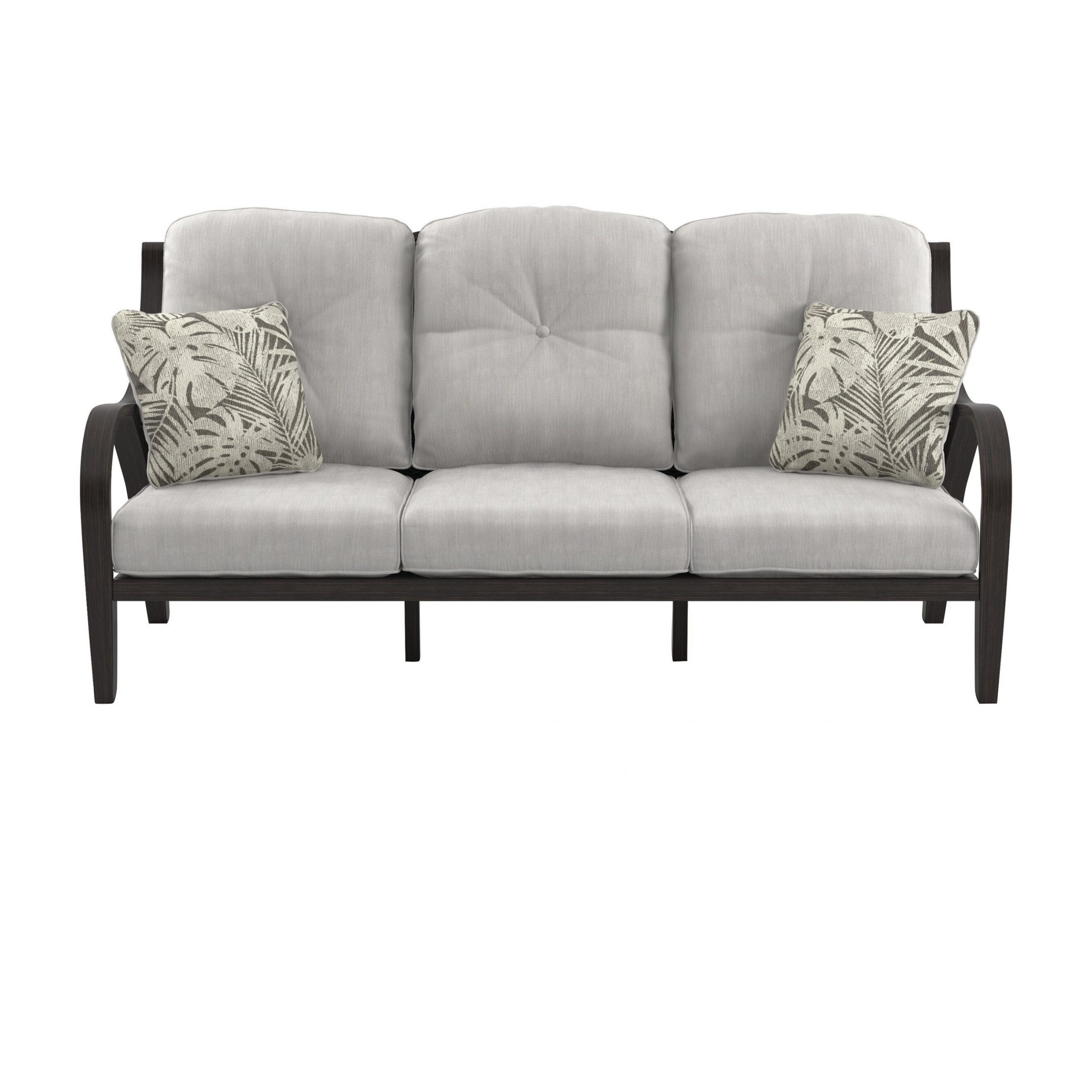 Well Known Kohn Patio Sofa With Cushions In Salvato Sofas With Cushion (View 16 of 25)