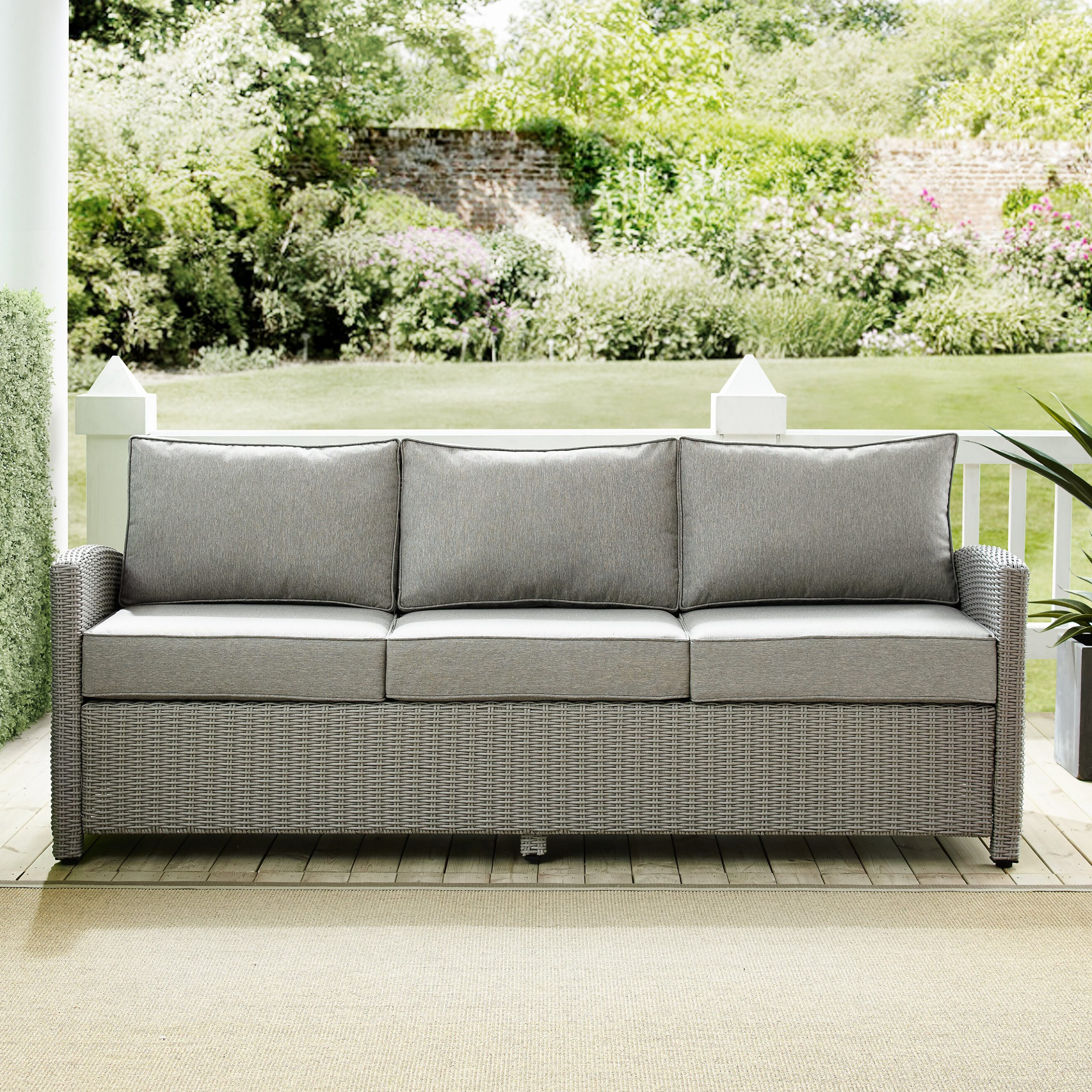 Well Known Lawson Patio Sofa With Cushions With Lawson Patio Sofas With Cushions (View 7 of 25)