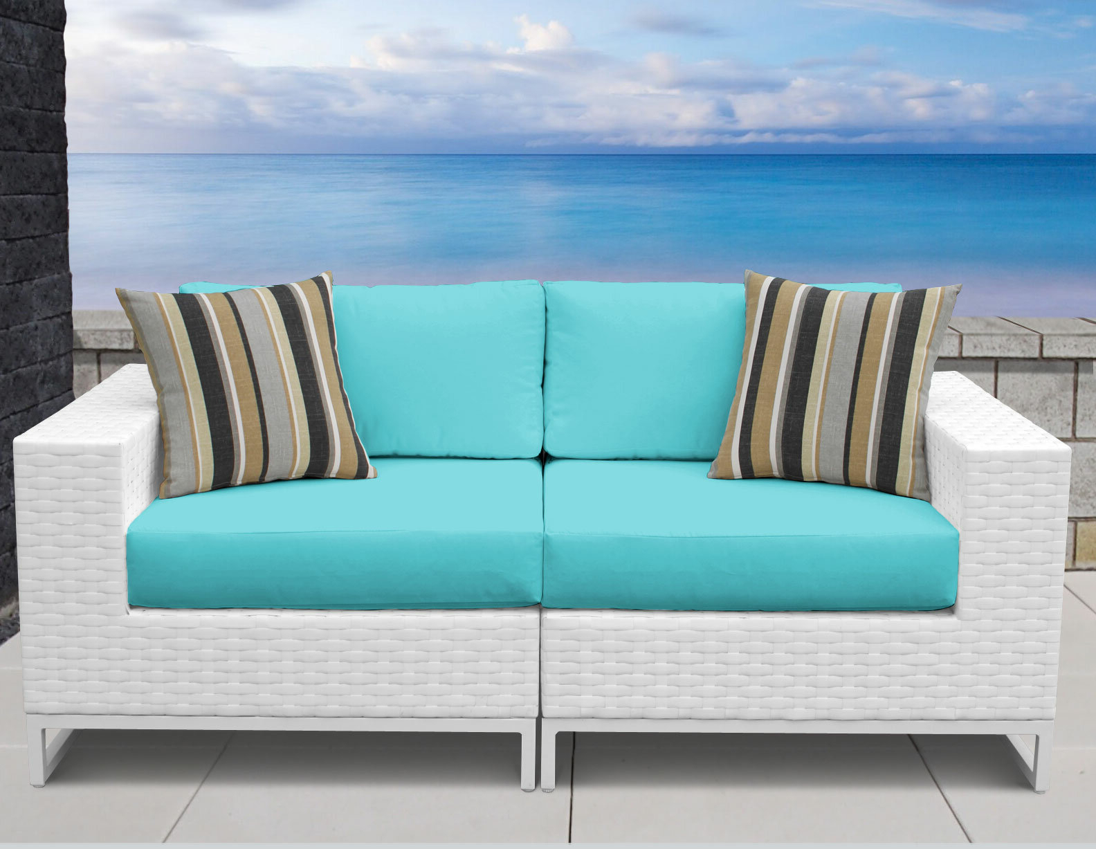 Featured Photo of Menifee Loveseats With Cushions