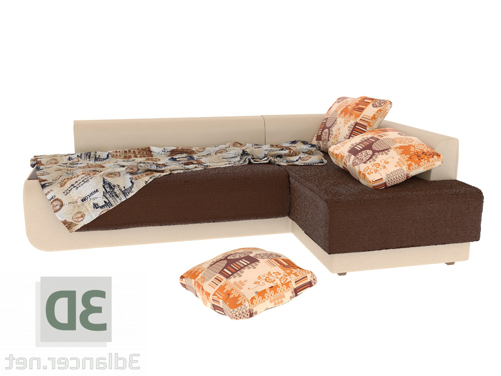 Well Known Paloma Sofas With Cushions In 3D Model Corner Sofa Bruno Mika 10 Paloma (View 16 of 25)