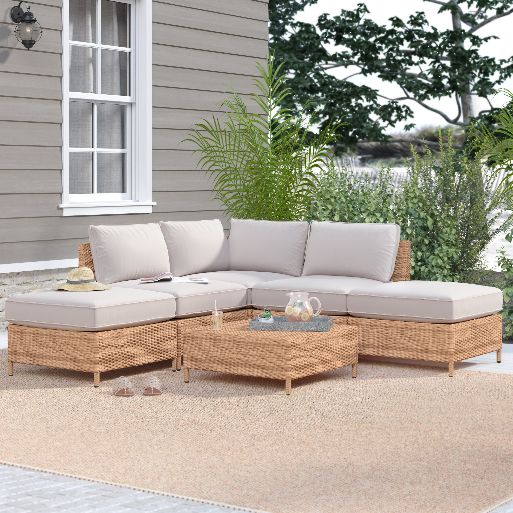 Well Known Tamworth 6 Piece Sectional Seating Group With Cushions Regarding Olinda 3 Piece Sectionals Seating Group With Cushions (View 16 of 25)