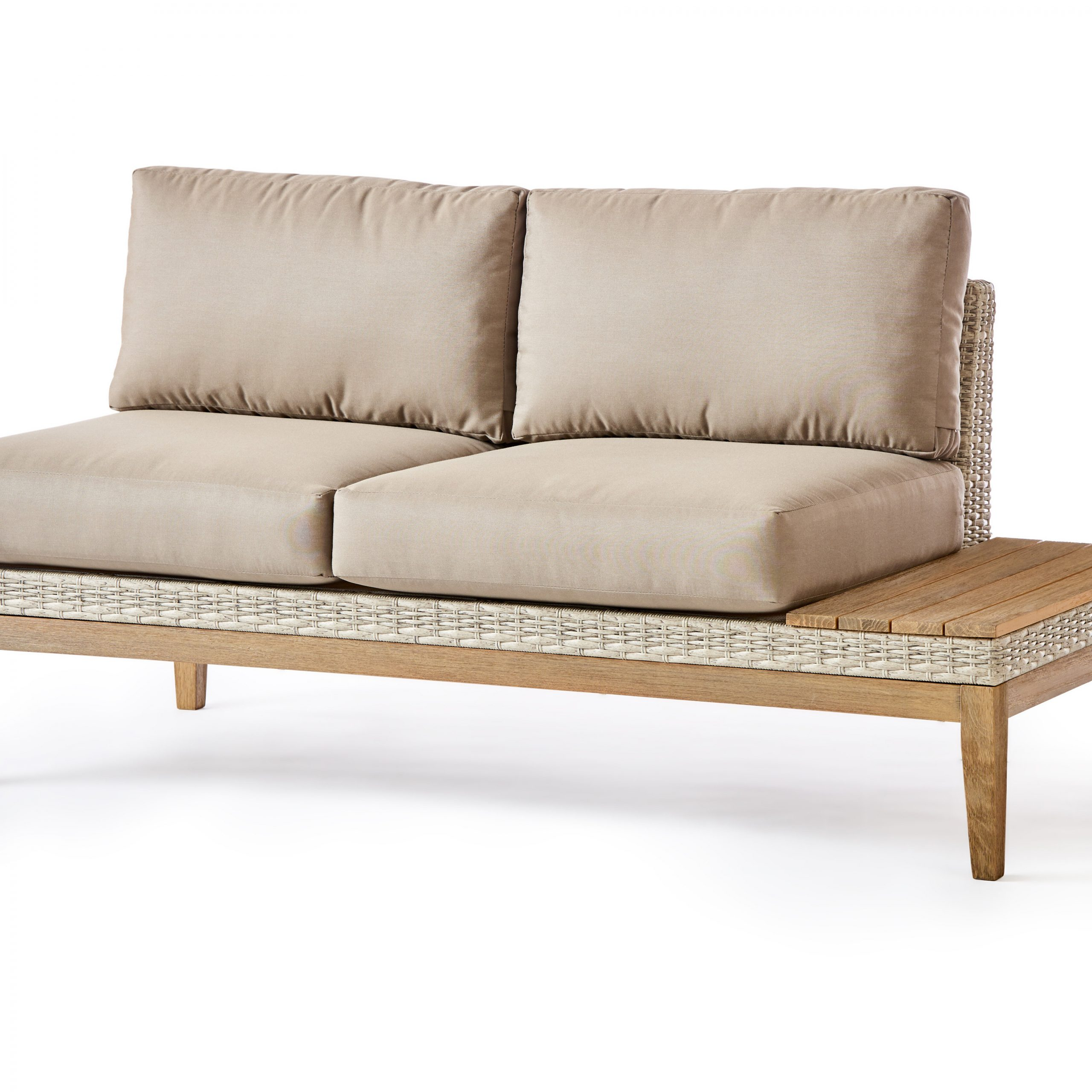 Well Known Wakeland Wicker Loveseats With Cushions Inside River Darnell Patio Loveseat With Cushions (View 20 of 25)