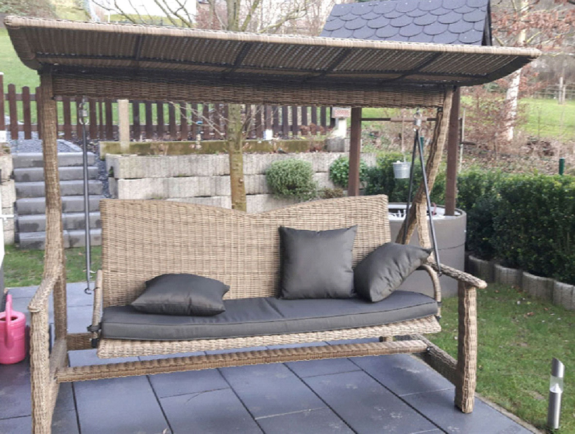 Well Liked Clemens Patio Sofas Within Polyrattan (View 23 of 25)