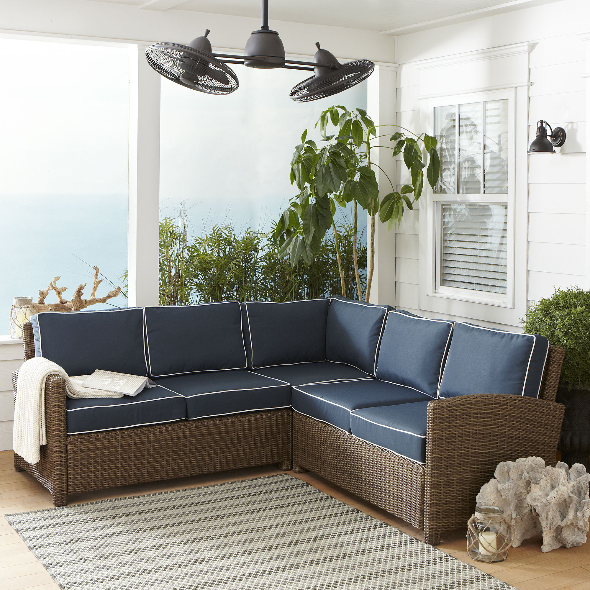 Well Liked Lawson Patio Sectional With Cushions Within Lawson Patio Sofas With Cushions (Gallery 6 of 25)
