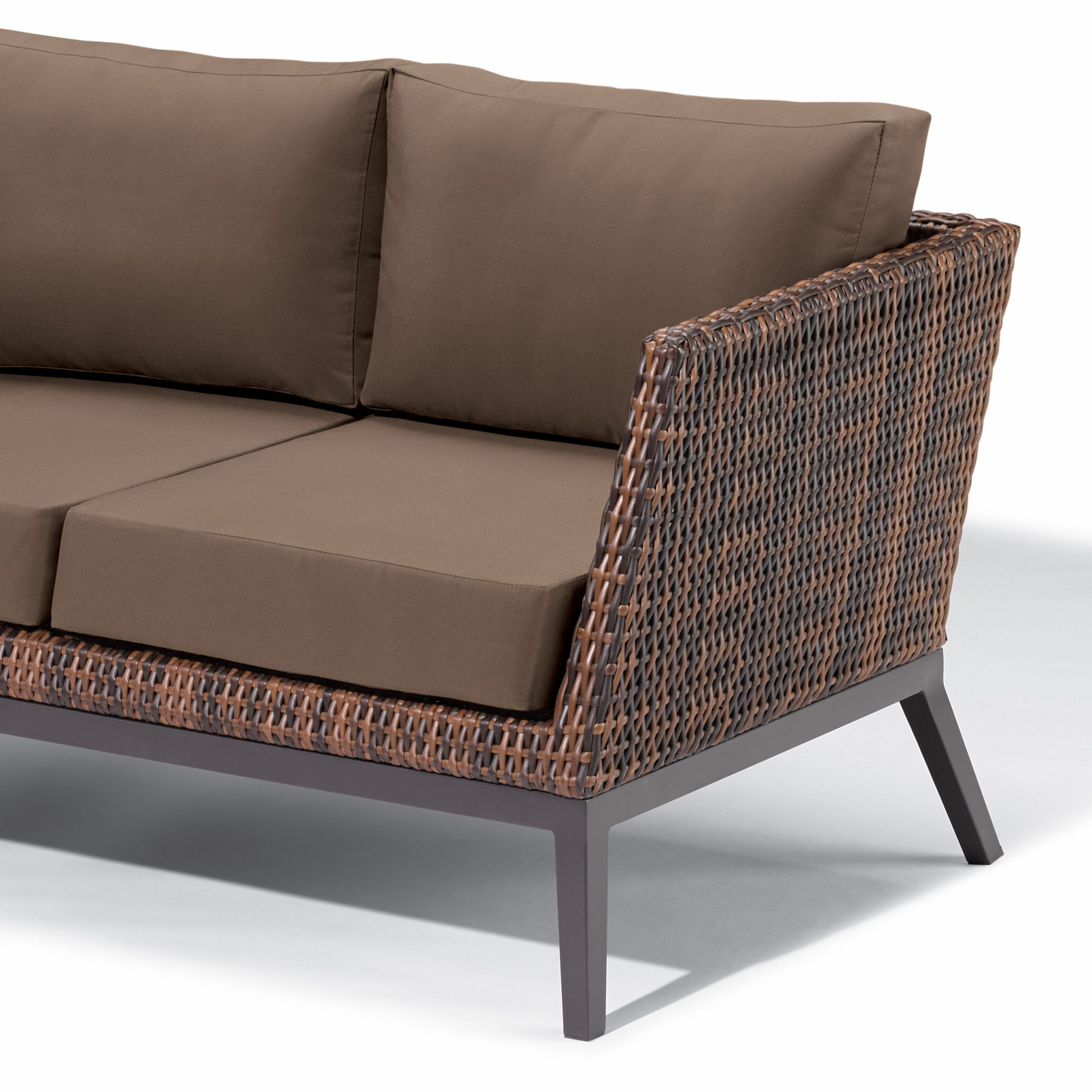 Widely Used Cammack Woven Loveseat With Cushions Intended For Saleem Loveseats With Cushions (View 24 of 25)