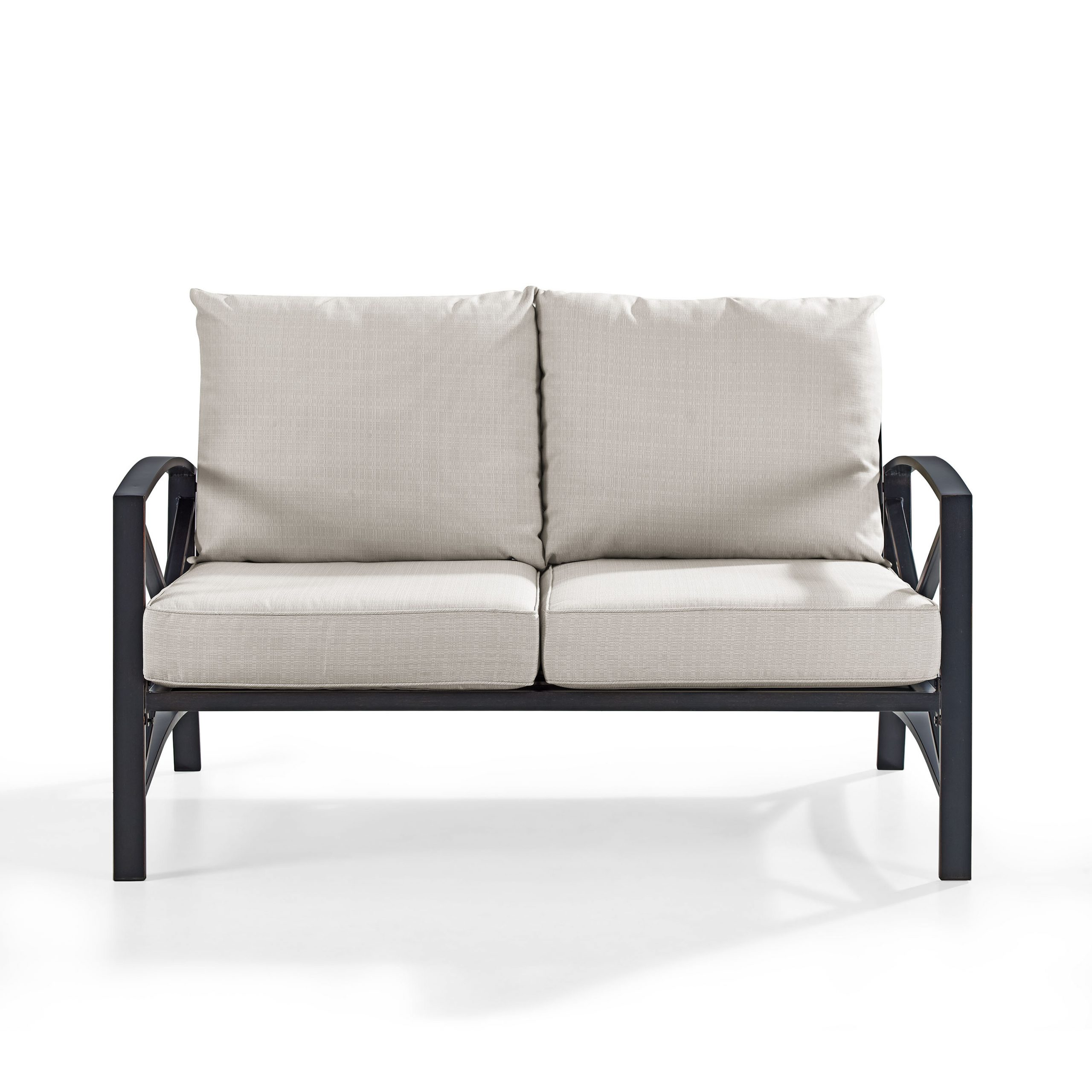Widely Used Lawson Wicker Loveseats With Cushions With Regard To Freitag Loveseat With Cushions (View 22 of 25)