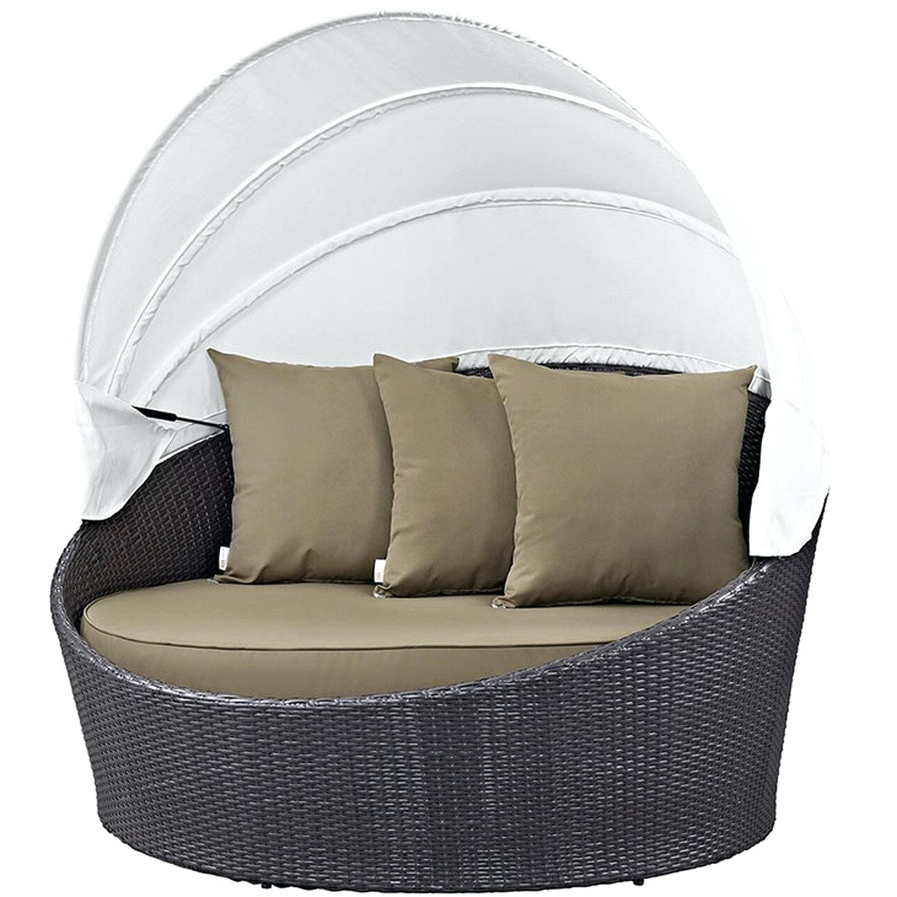 Widely Used Patio Daybed – Digandfish.co With Ellanti Patio Daybeds With Cushions (Gallery 5 of 25)