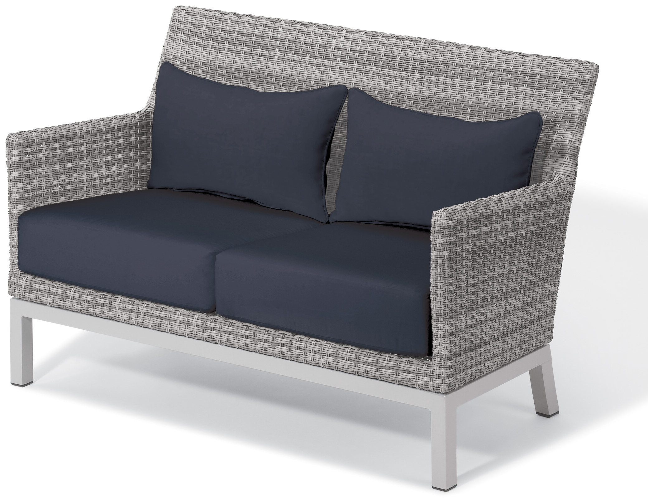 Widely Used Wakeland Wicker Loveseats With Cushions Pertaining To Saleem Loveseat With Cushions (View 4 of 25)