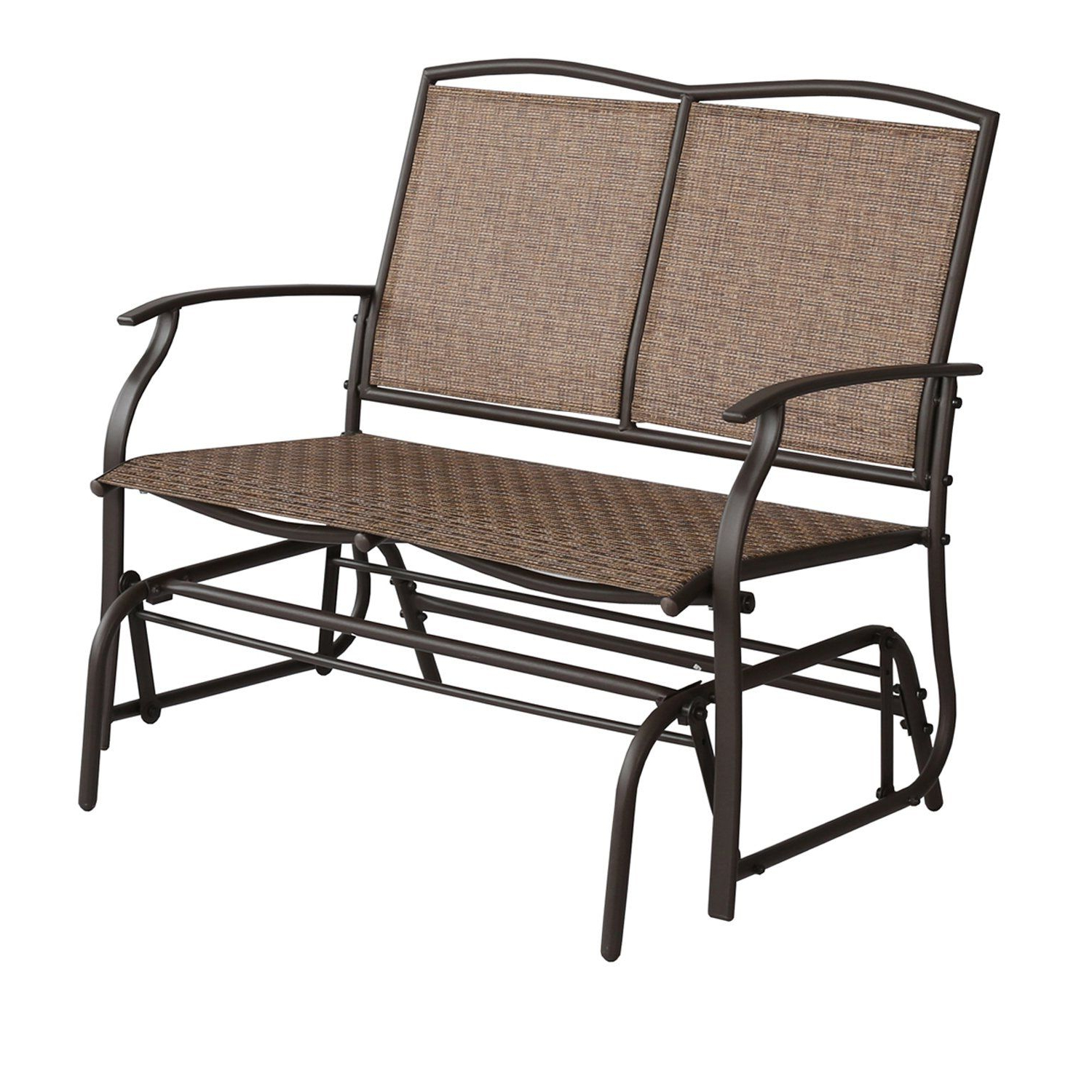 2 Person Loveseat Chair Patio Porch Swings With Rocker In 2020 Patio Tree Patio Swing Glider Bench For 2 Person All (View 18 of 25)
