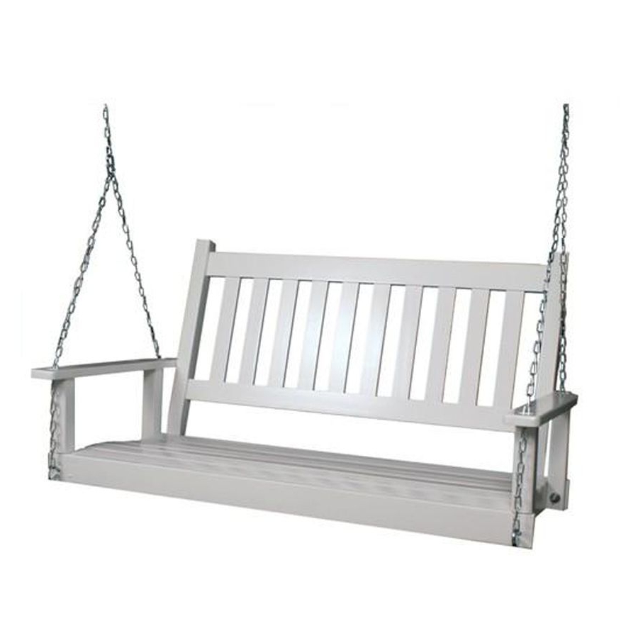2 Seat Wood Traditional Swing (View 8 of 25)