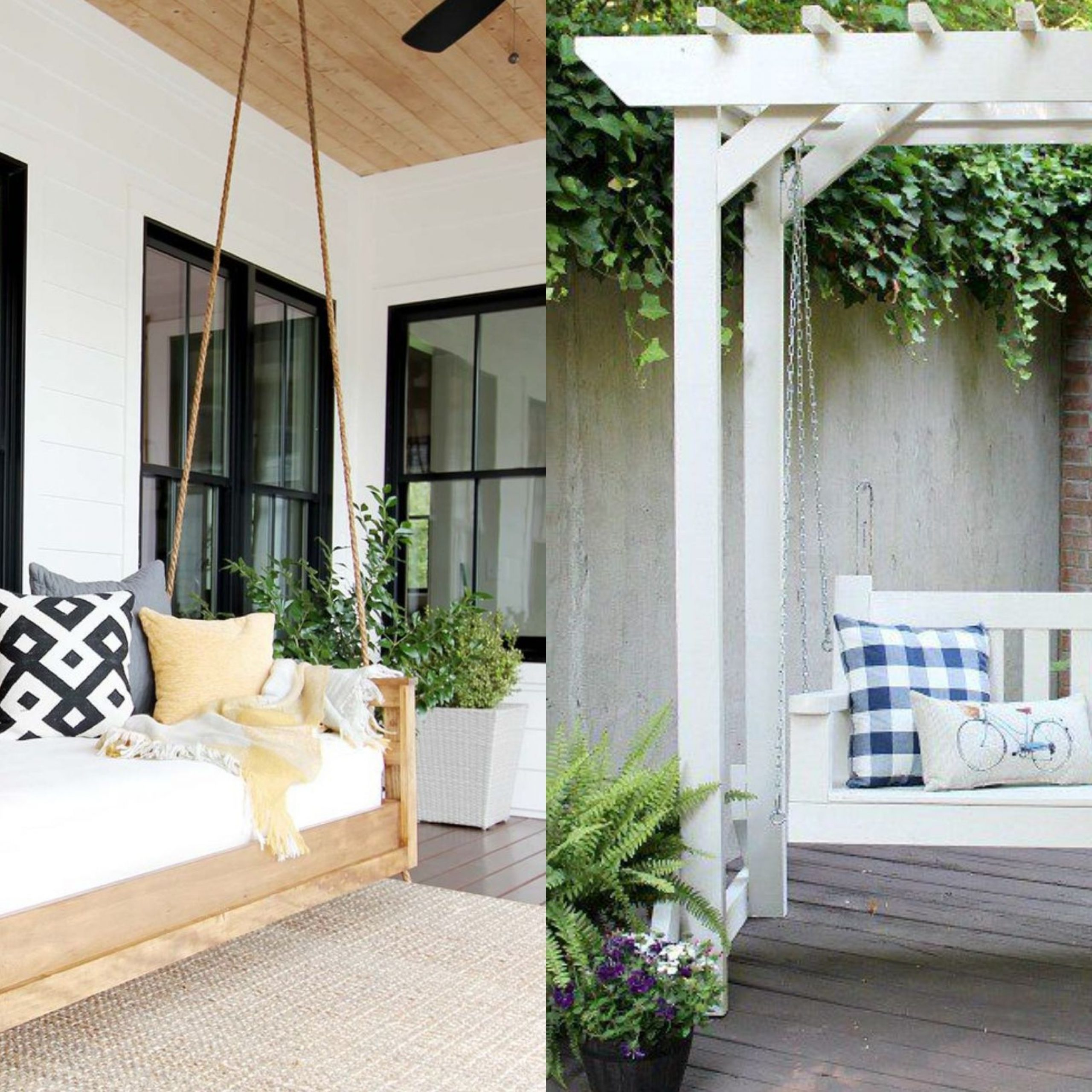 20+ Porch Swing Plans – Diy Porch Swing With 2020 Pergola Porch Swings With Stand (View 20 of 25)