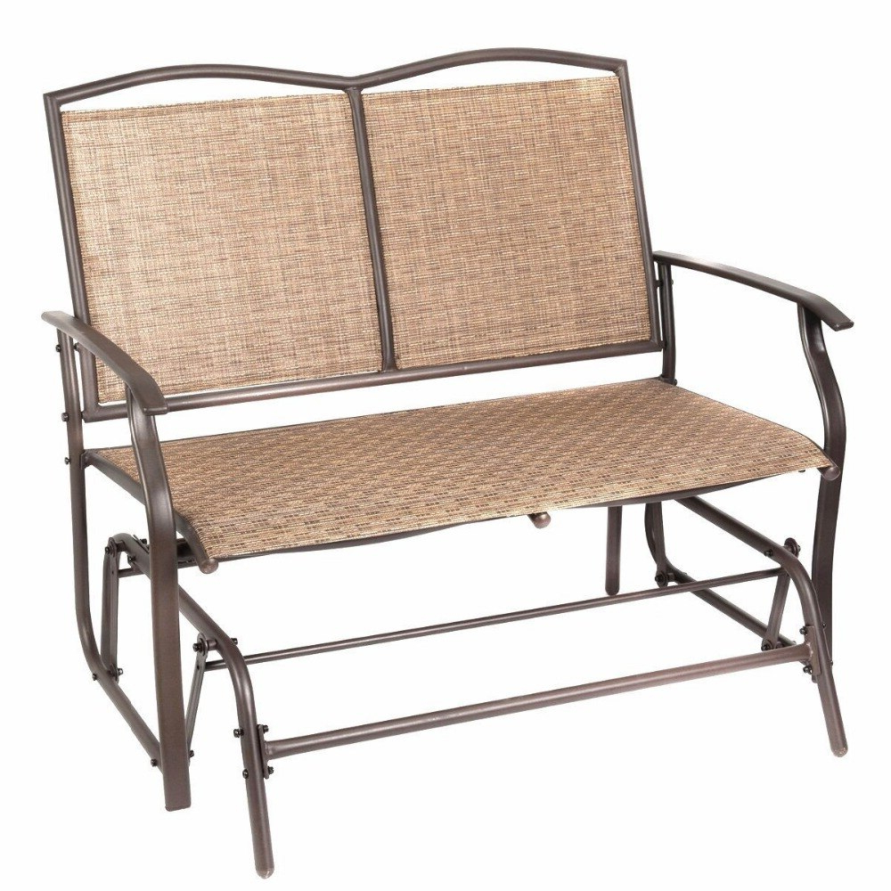 2019 Outdoor Patio Swing Glider Bench Chair S For Naturefun Patio Swing Glider Bench Chair Garden Glider (View 1 of 25)
