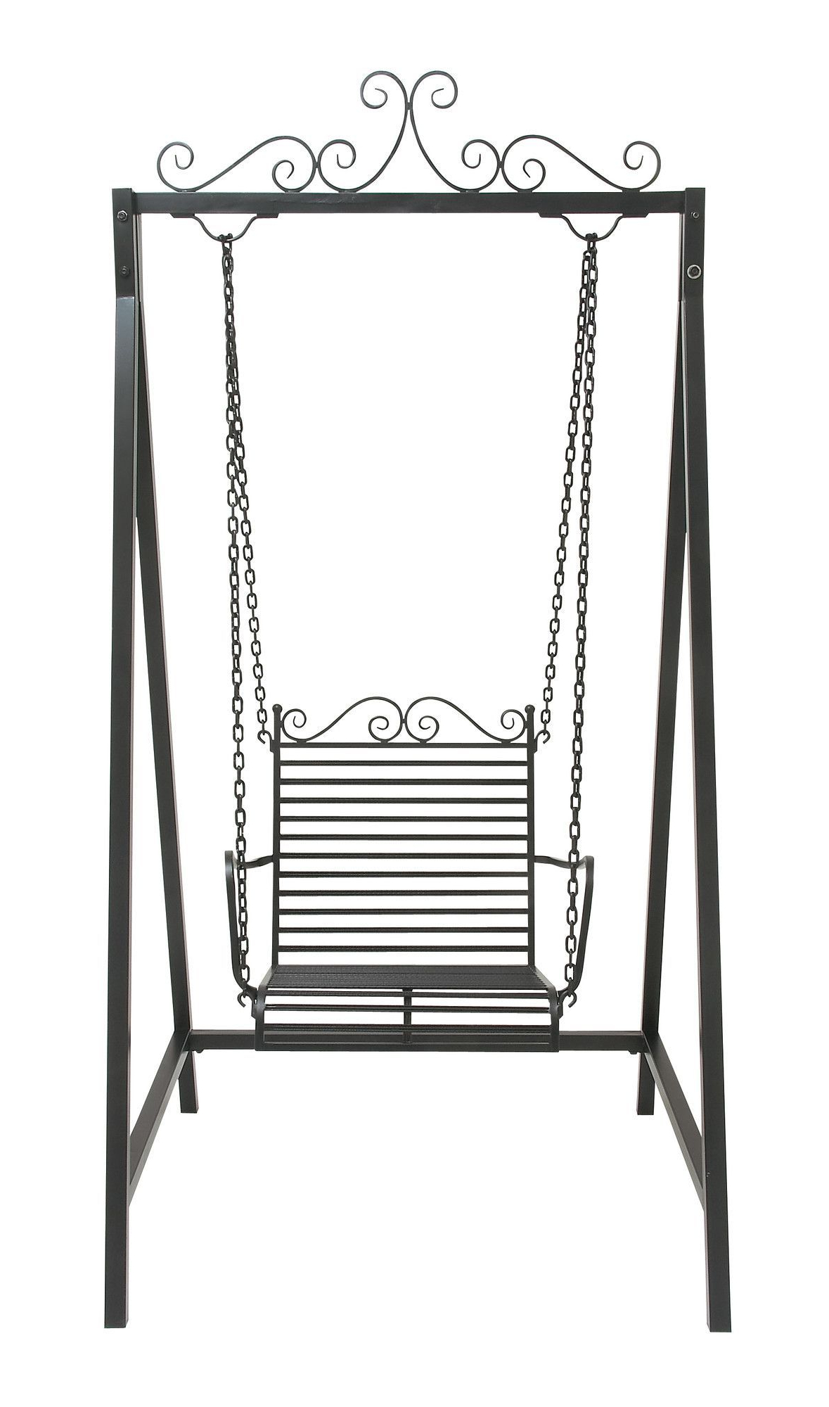 2020 Arianna Hardwood Hanging Porch Swing With Stand (View 24 of 25)