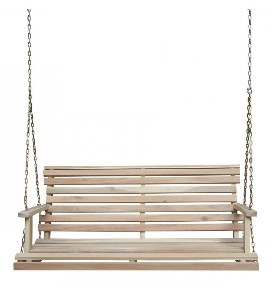 [%[48 Inch] Porch Swing Within Well Known Porch Swings With Chain|Porch Swings With Chain For Widely Used [48 Inch] Porch Swing|Current Porch Swings With Chain Intended For [48 Inch] Porch Swing|Most Popular [48 Inch] Porch Swing With Porch Swings With Chain%] (View 21 of 26)