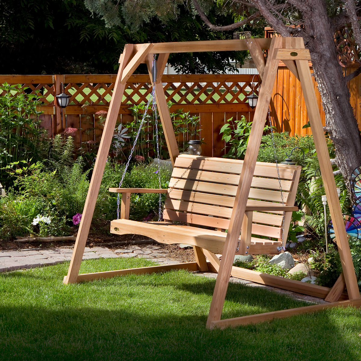 Featured Photo of 5-ft Cedar Swings with Springs