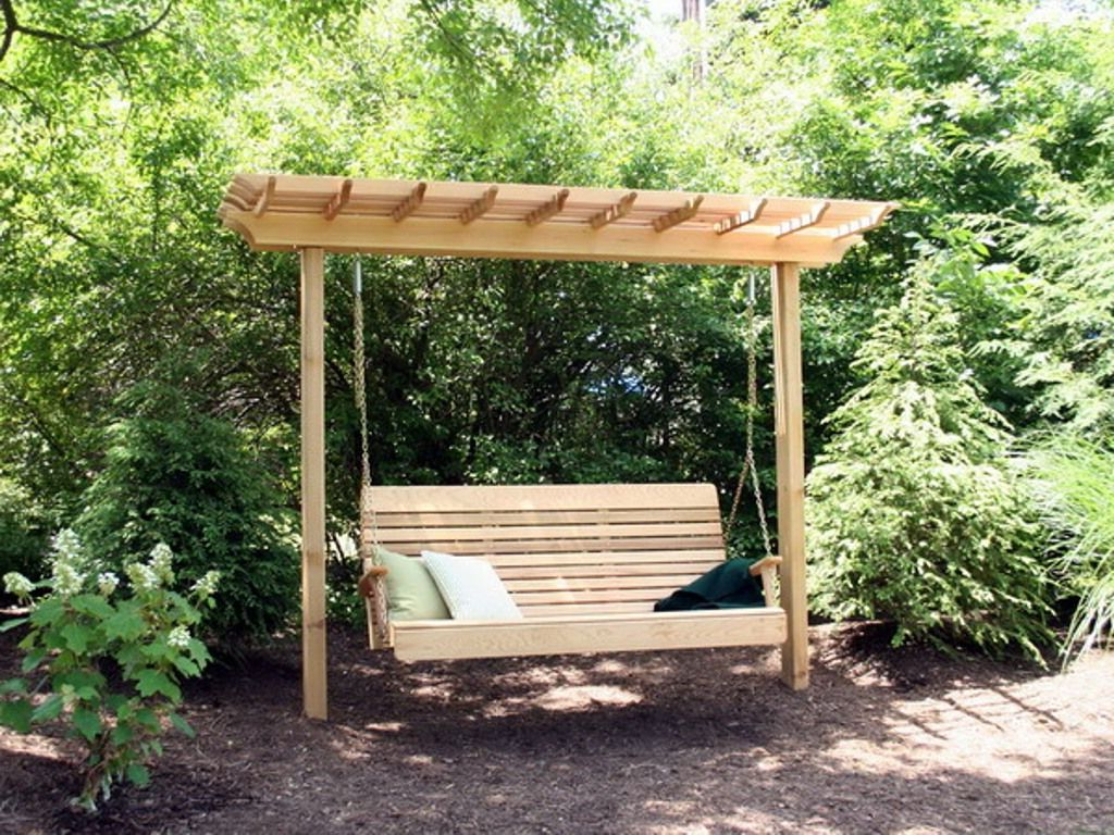 A Frame For Porch Swing : Porch Ideas – Making Porch Swing Intended For Most Up To Date Pergola Porch Swings With Stand (Gallery 5 of 25)