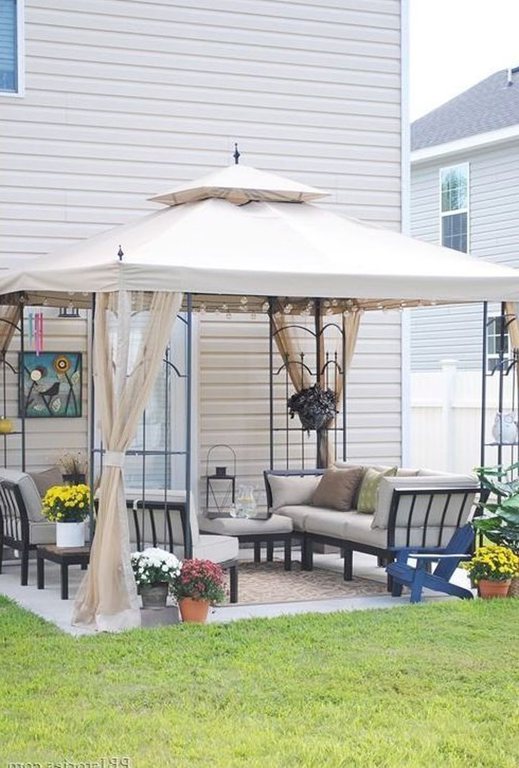 A4 Ft Cedar Pergola Swings With Regard To Trendy 20+ Beautiful Small Backyard Makeover S Ideas On A Budget (View 9 of 25)