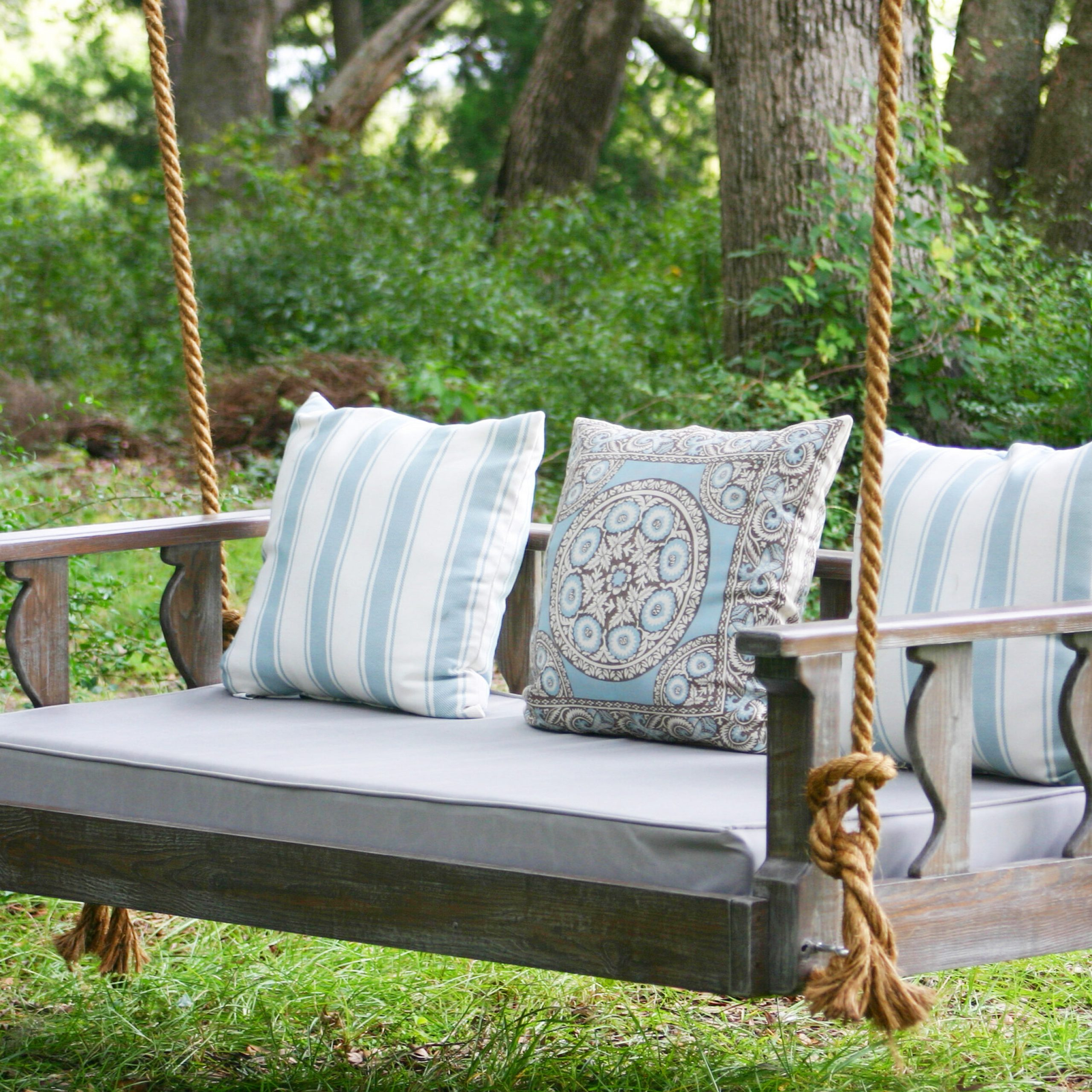 Avari Porch Swing Inside Fashionable Hardwood Hanging Porch Swings With Stand (View 10 of 25)