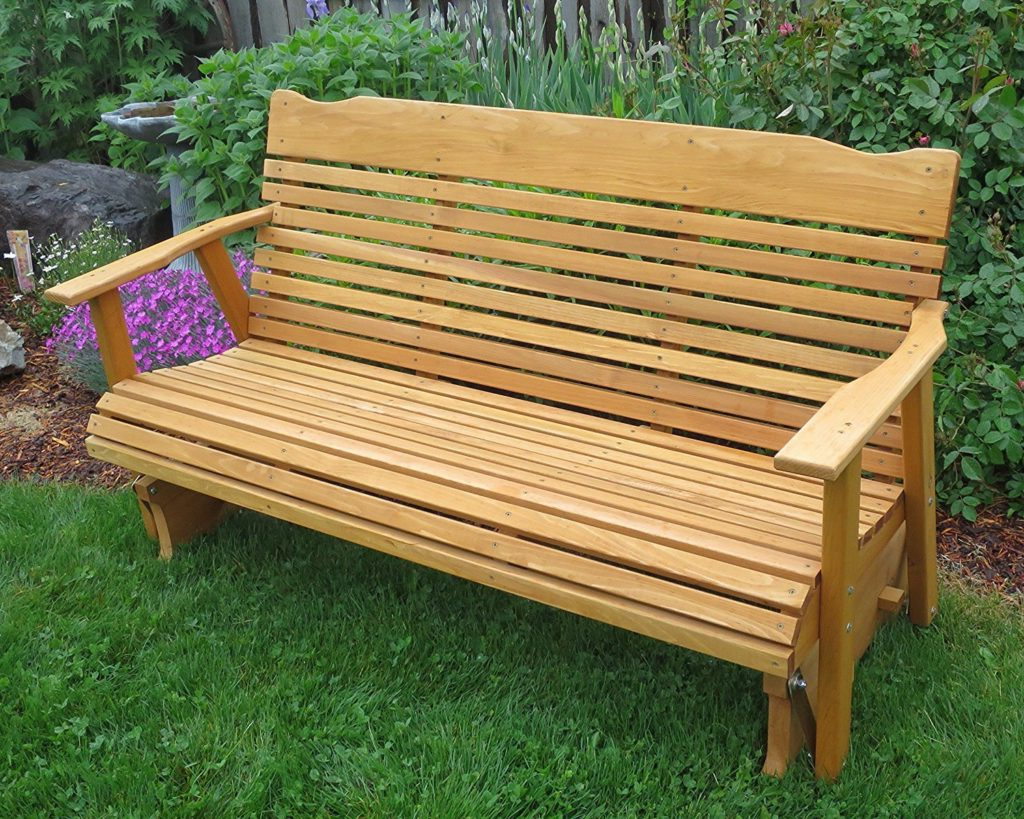 Cedar Wood Outdoor Furniture Reviews – Teak Patio Furniture For Fashionable 5 Ft Cedar Swings With Springs (View 24 of 25)