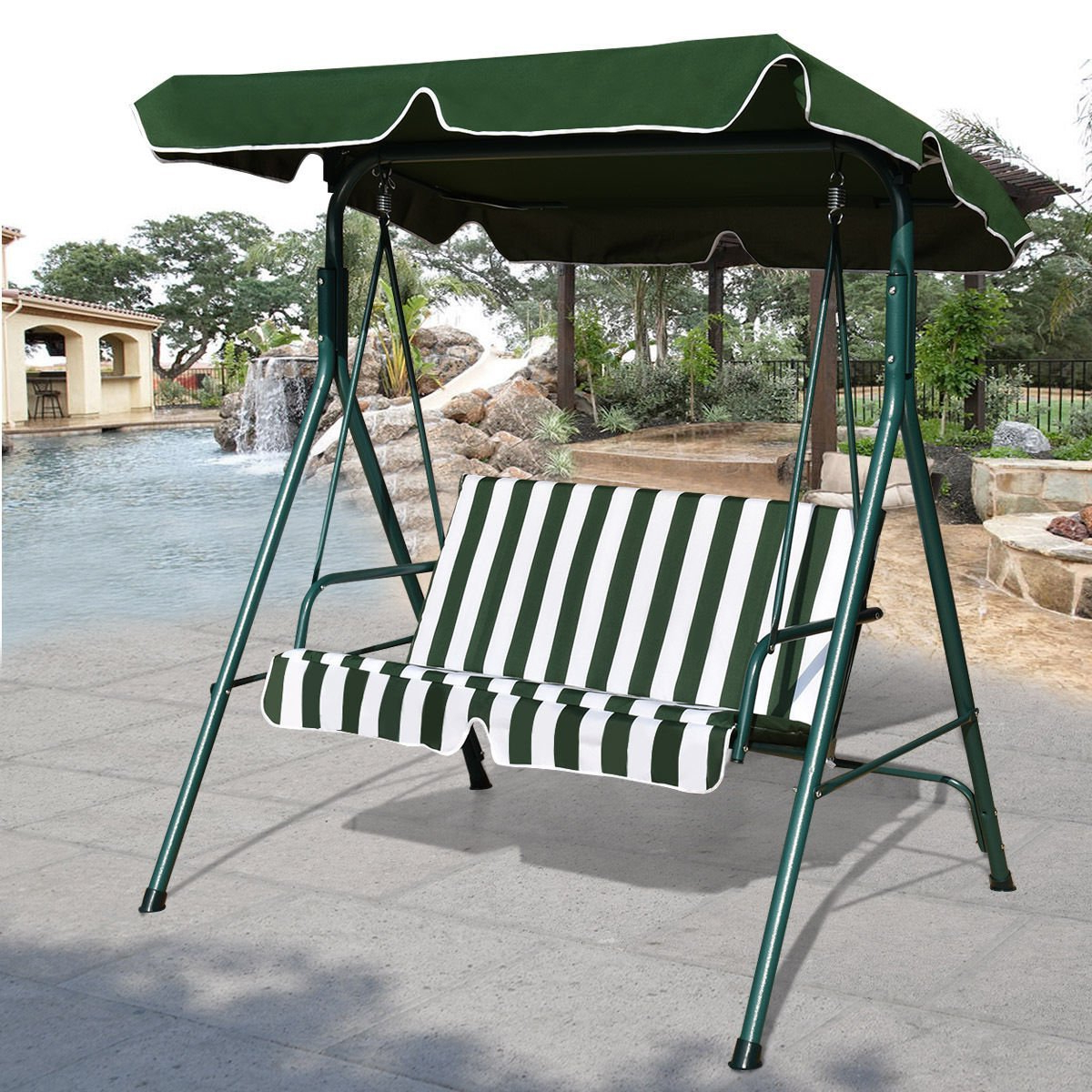 Cheap Canopy For Garden Swing Seat, Find Canopy For Garden For Popular 2 Person Gray Steel Outdoor Swings (View 10 of 25)