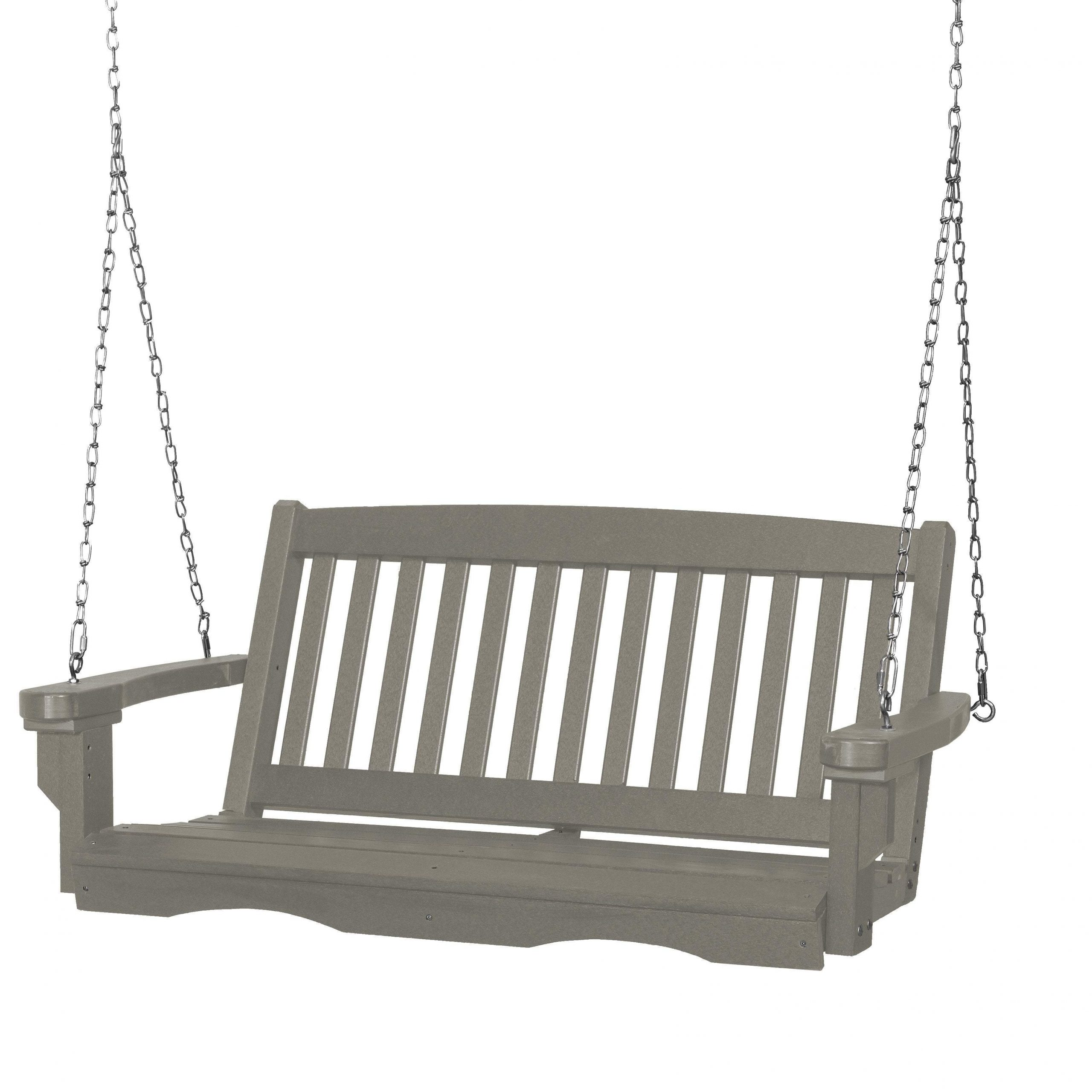 Contoured Classic Porch Swings Intended For Recent Wildridge Classic 4 Ft (View 7 of 25)