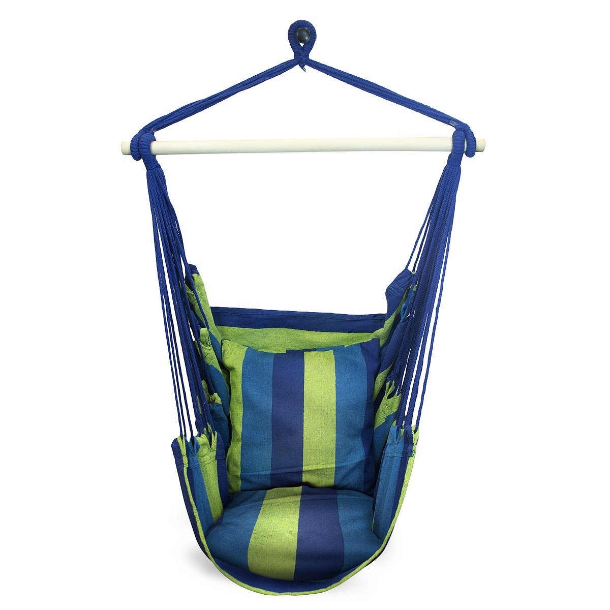 Cotton Porch Swings Intended For Famous Top 10 Best Hammock Chairs And Swings In 2019 Reviews – Thetbpr (View 19 of 25)